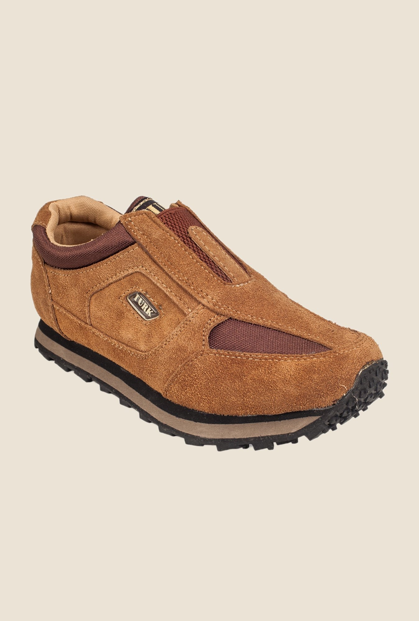 Khadim's Turk Brown Casual Slip-Ons