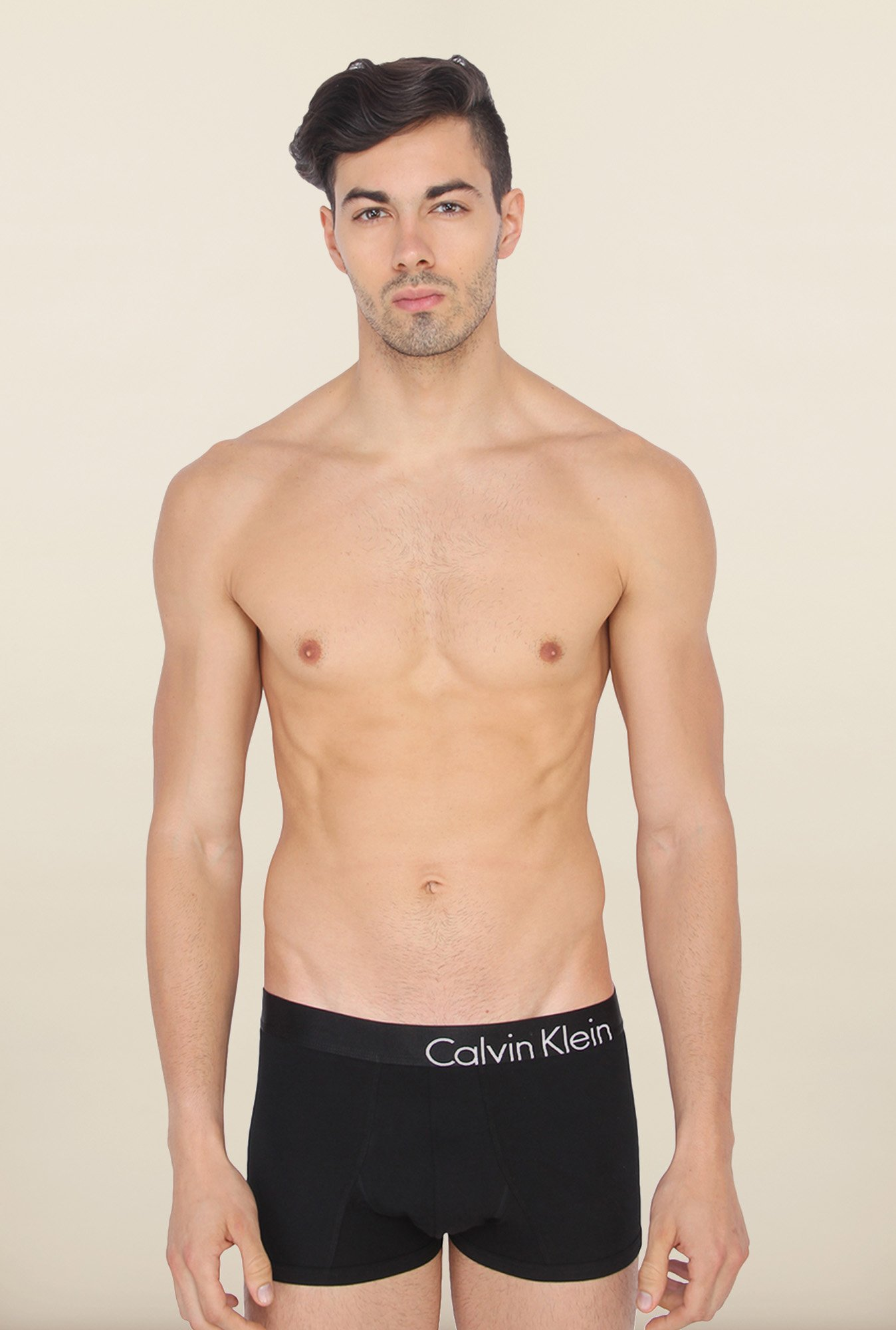 Calvin Klein Plain Black Trunks