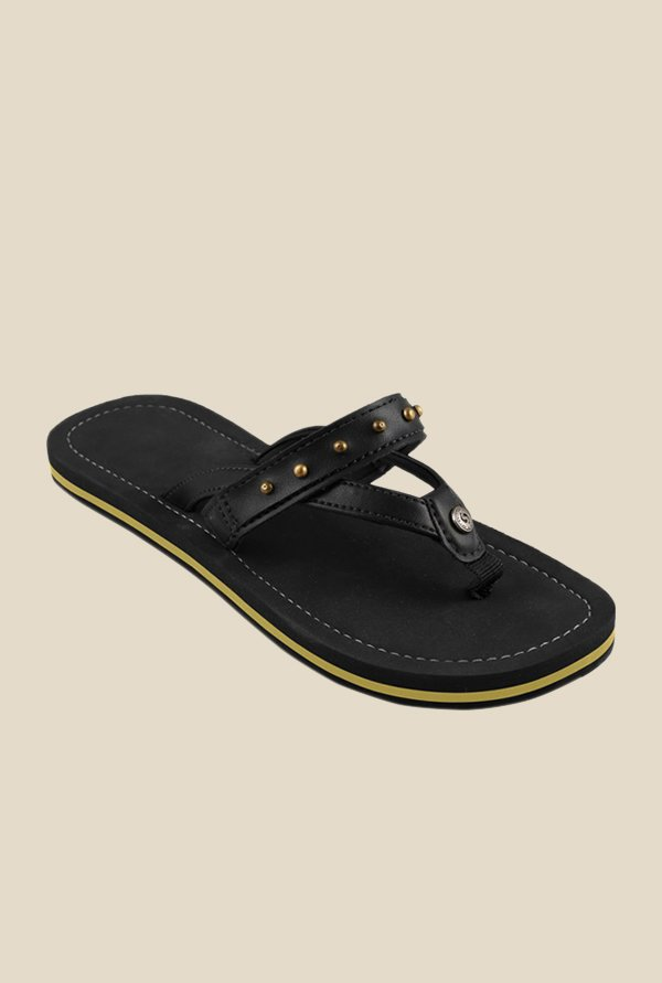 Solethreads Star Gazer Black Flip Flops
