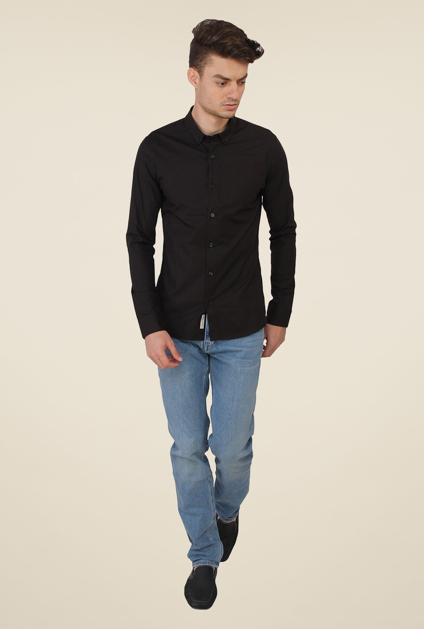 Calvin Klein Black Solid Shirt