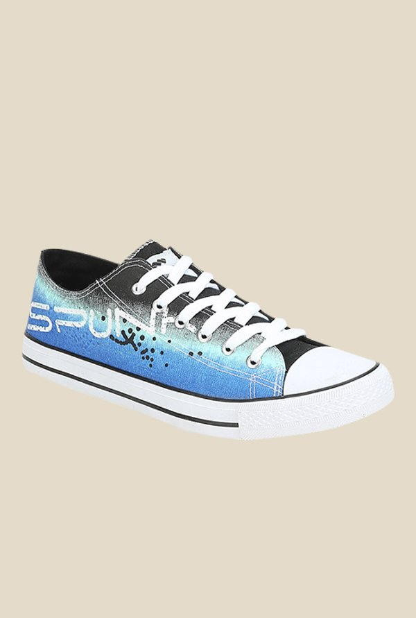 Spunk Texas Blue & Black Sneakers