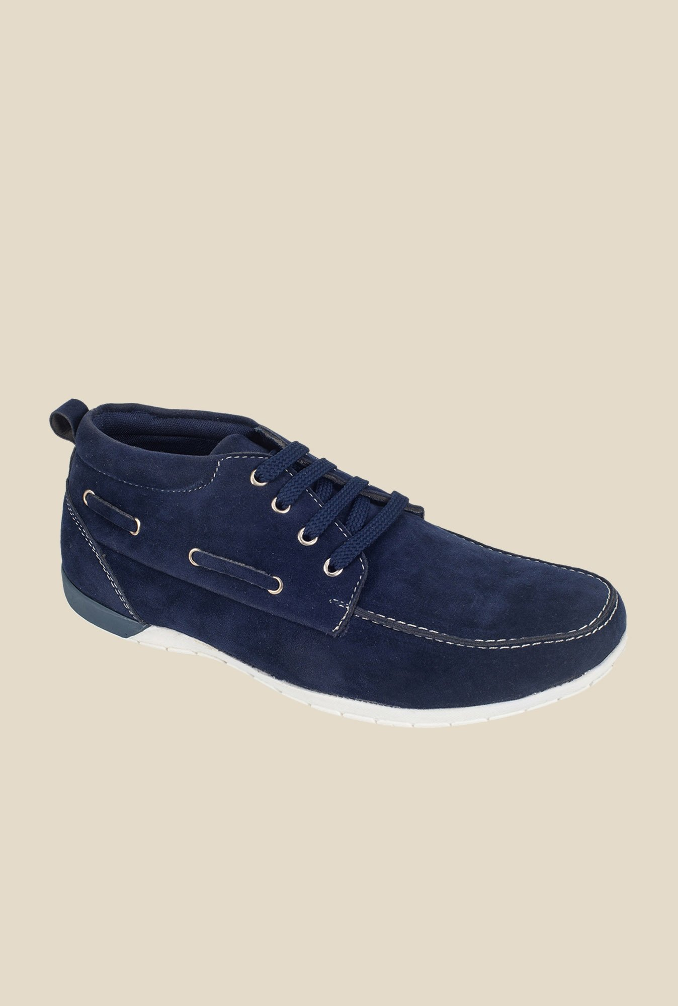 Khadim's Navy Casual Boots