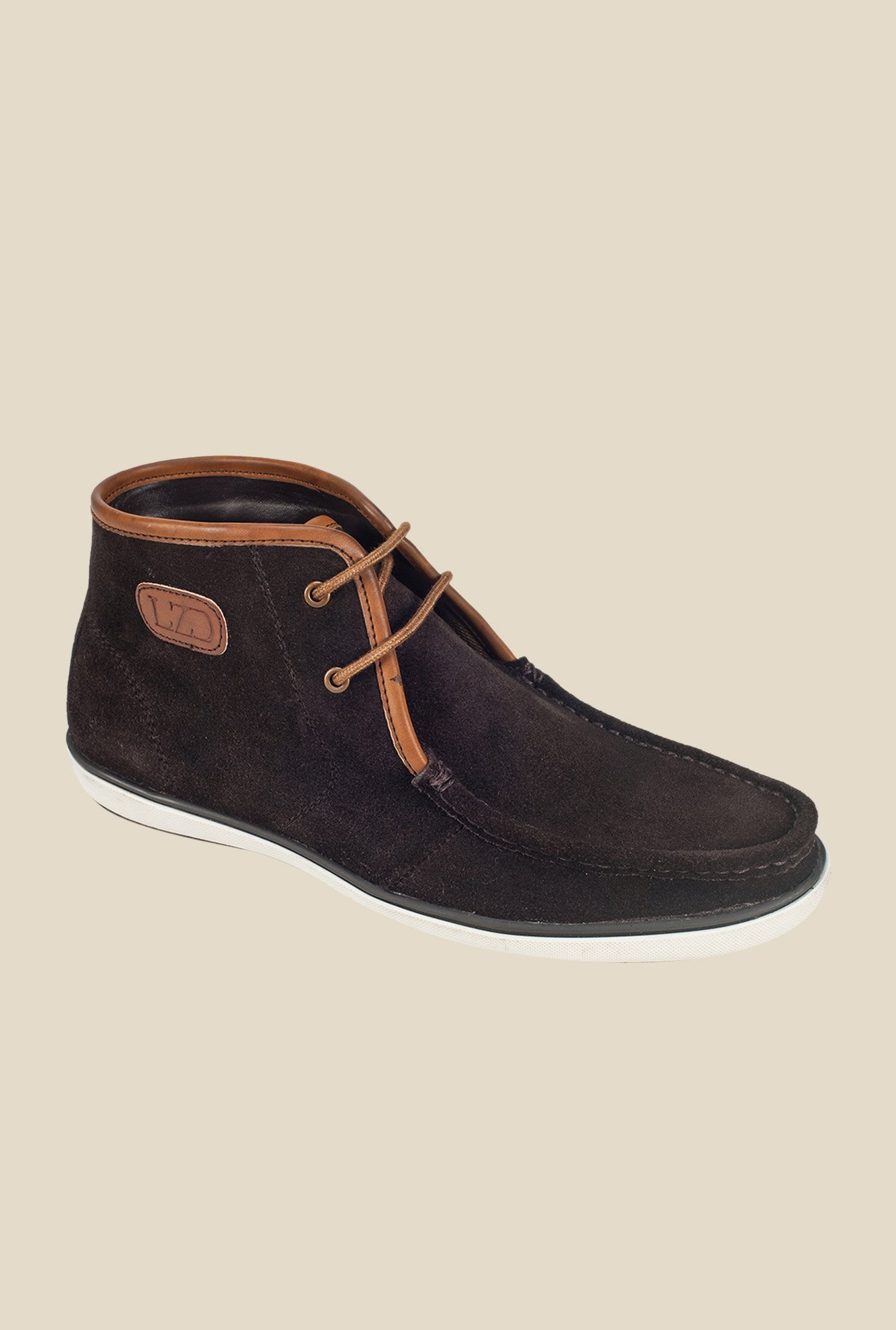 Khadim's Dark Brown Casual Boots