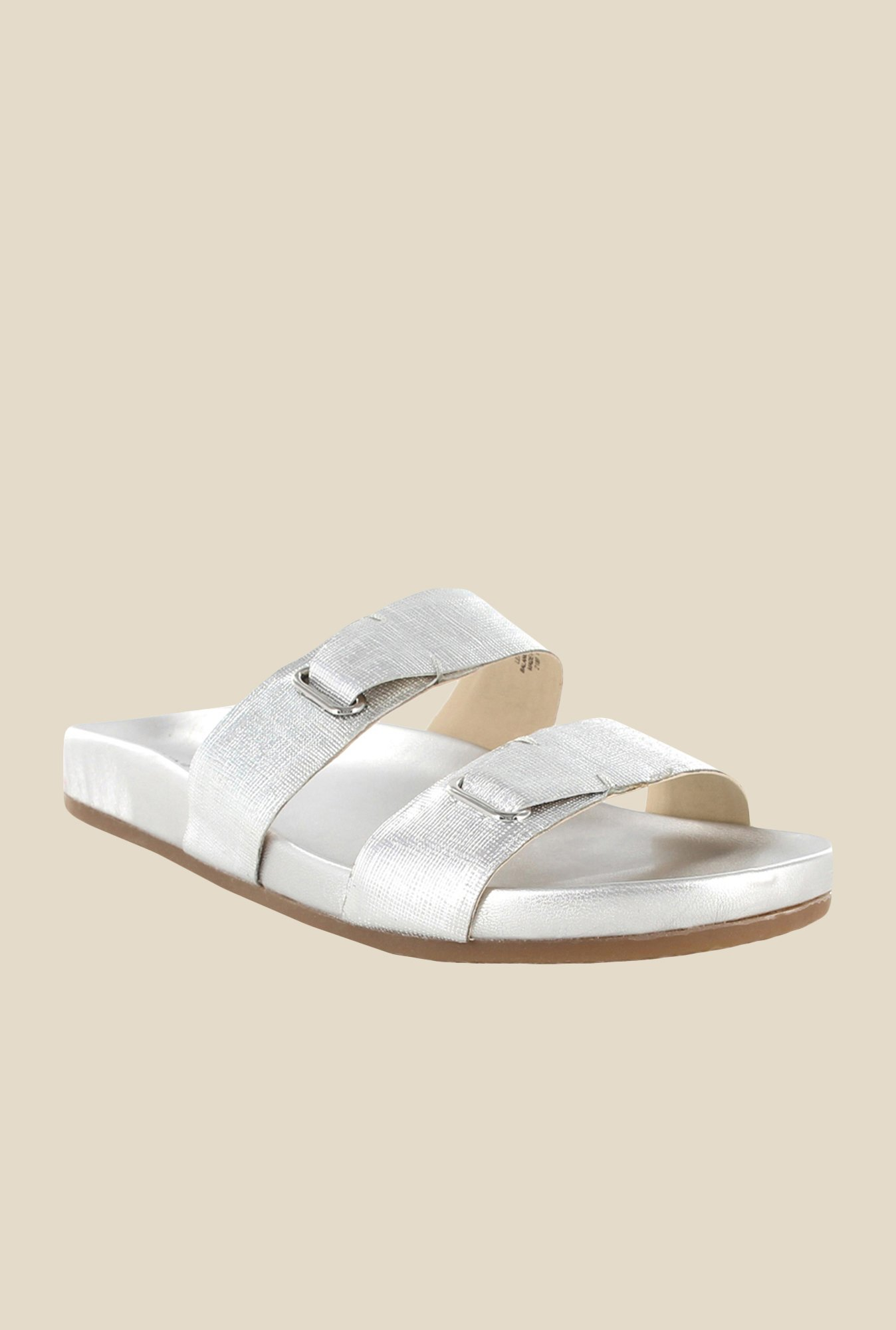 Nine West Silver Casual Sandals