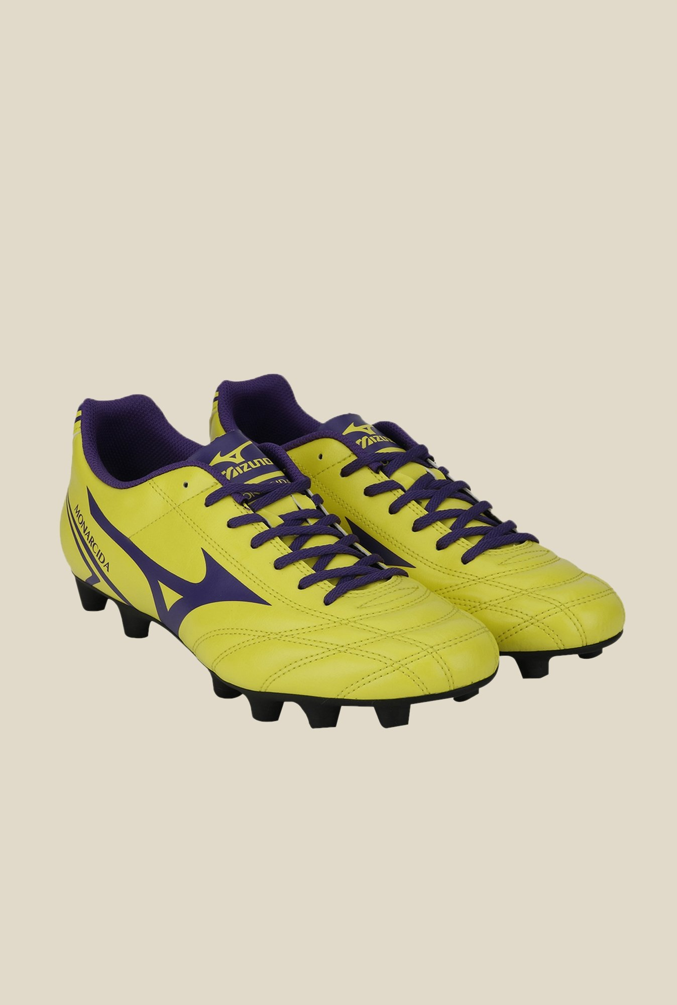 Mizuno Monarcida MD (EU) Green & Purple Football Shoes