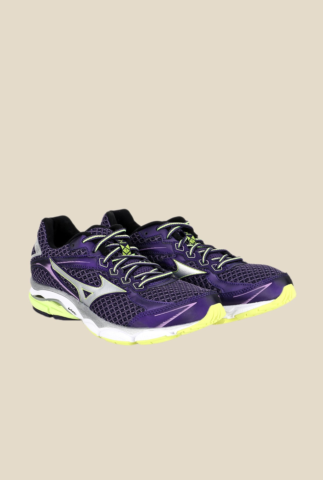 Mizuno Wave Ultima 7 Purple & Silver Running Shoes