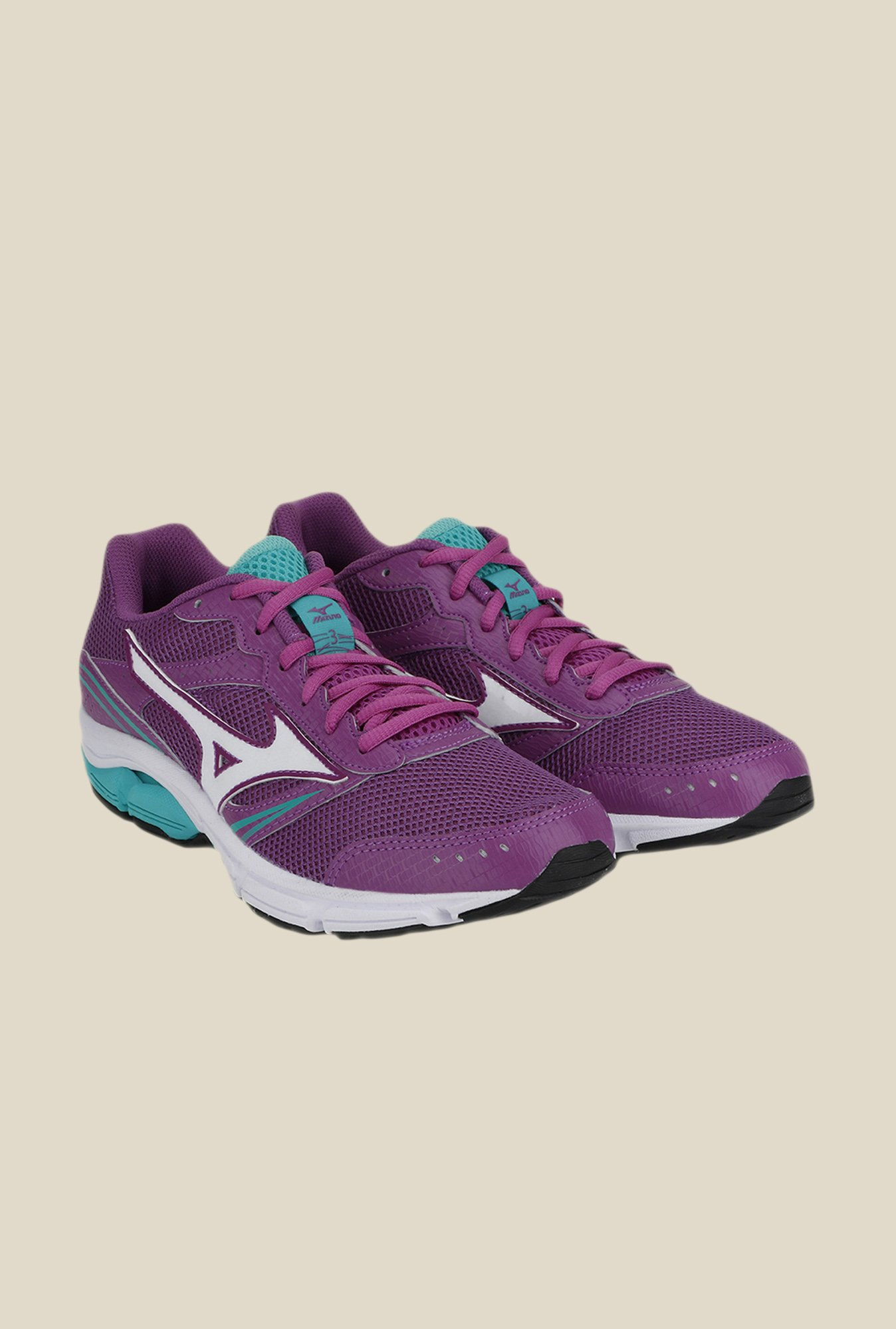Mizuno Wave Impetus 3 Purple & White Running Shoes