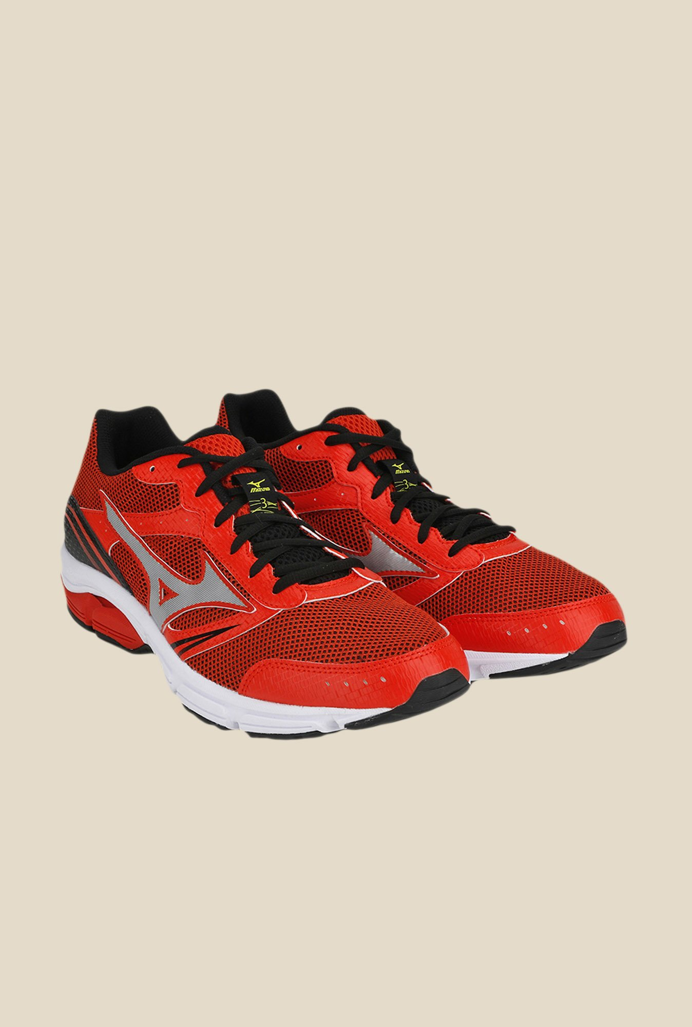 Mizuno Wave Impetus 3 Red & Black Running Shoes