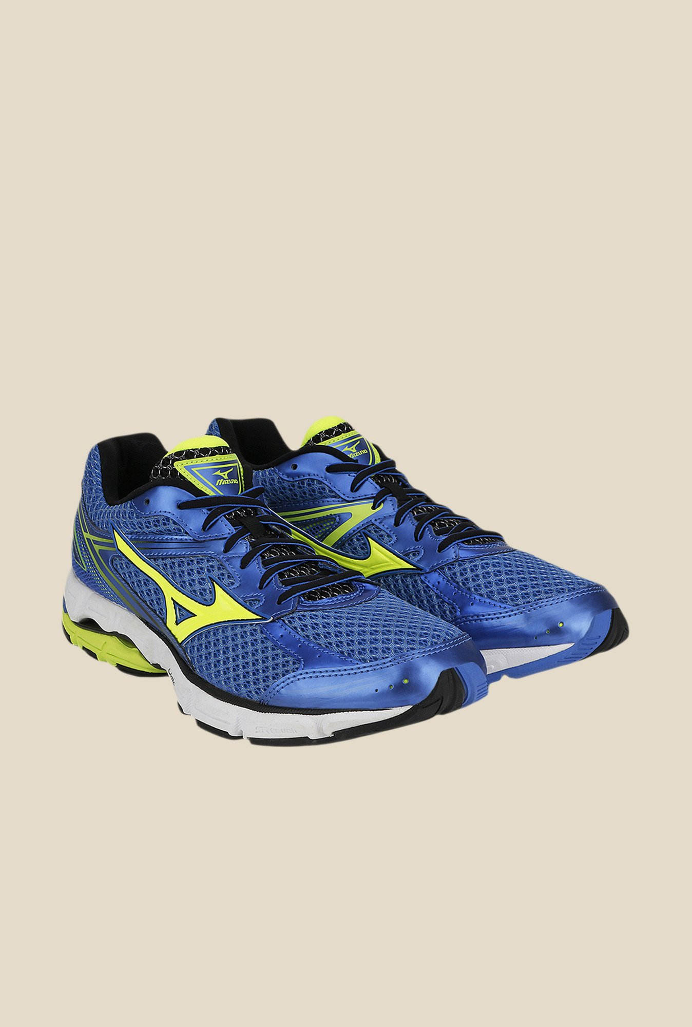 Mizuno Wave Connect 3 Blue & Green Running Shoes