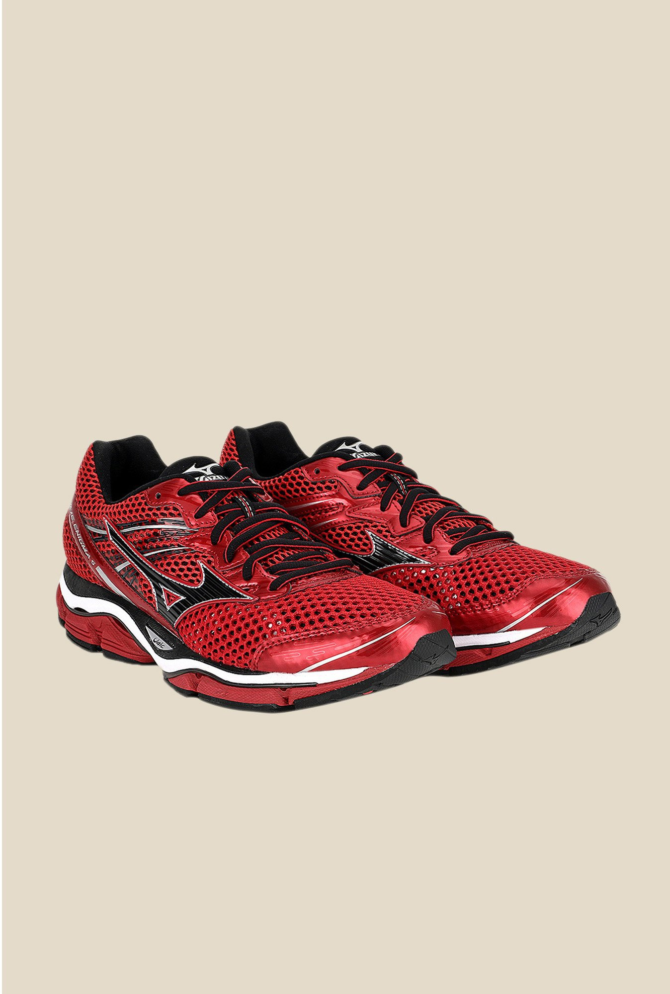 Mizuno Wave Enigma 5 Red & Black Running Shoes