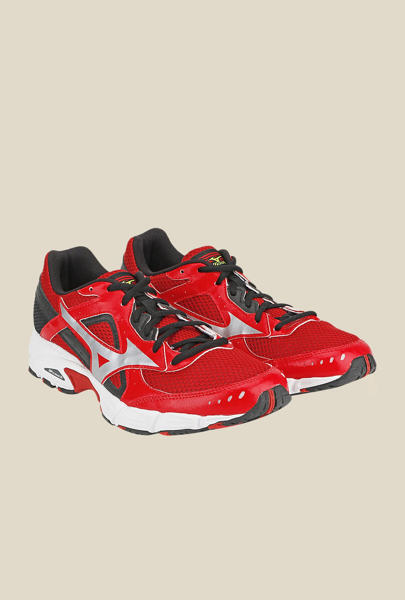 Mizuno Empower 3 Red & Silver Running Shoes