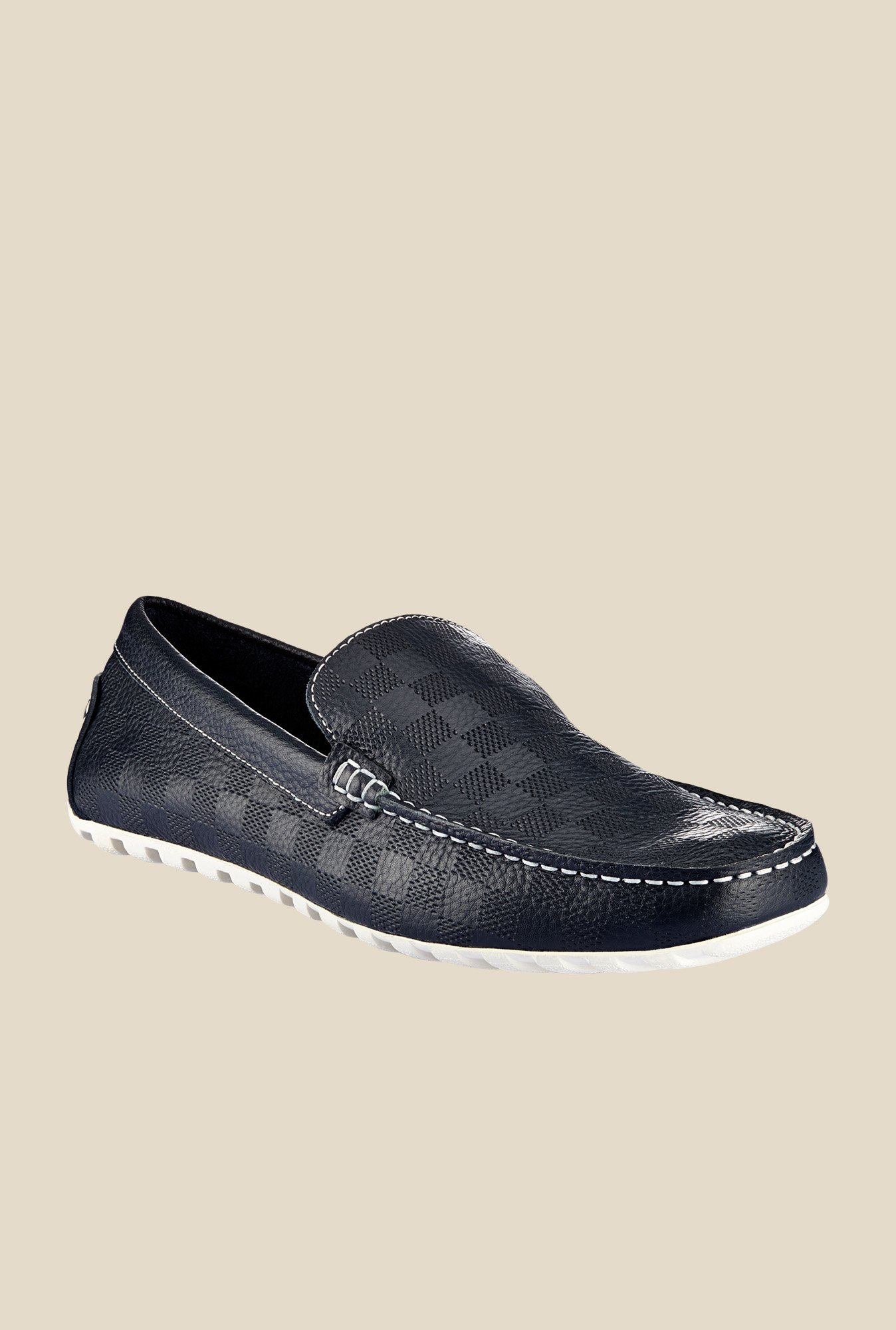 Tresmode Navy Casual Loafers