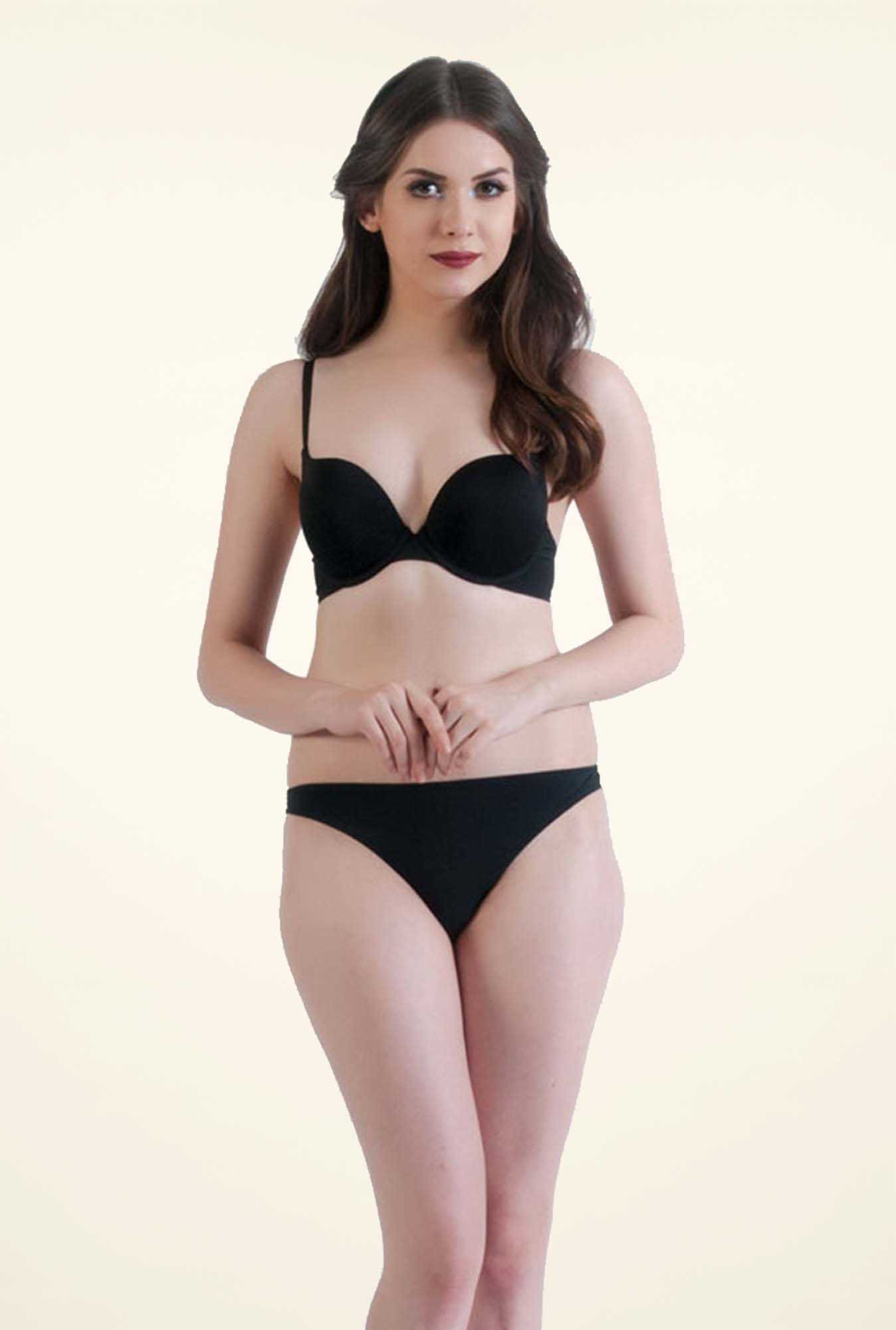 Bwitch Black Plunge Bra