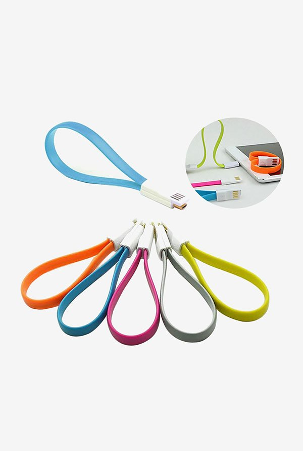 Callmate Set of 5 Charging Cable (Multicolor)
