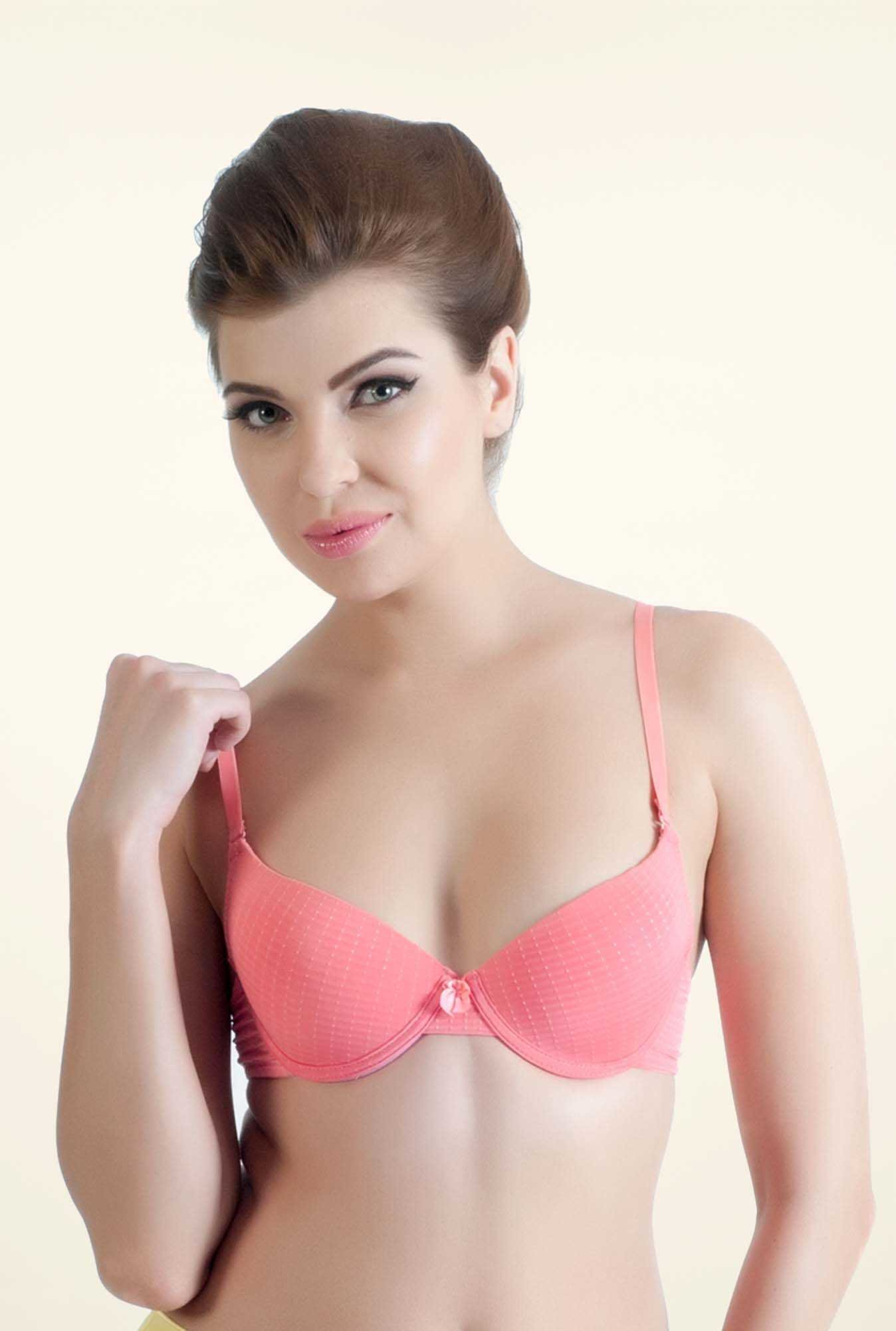 Bwitch Peach Seamless Bra