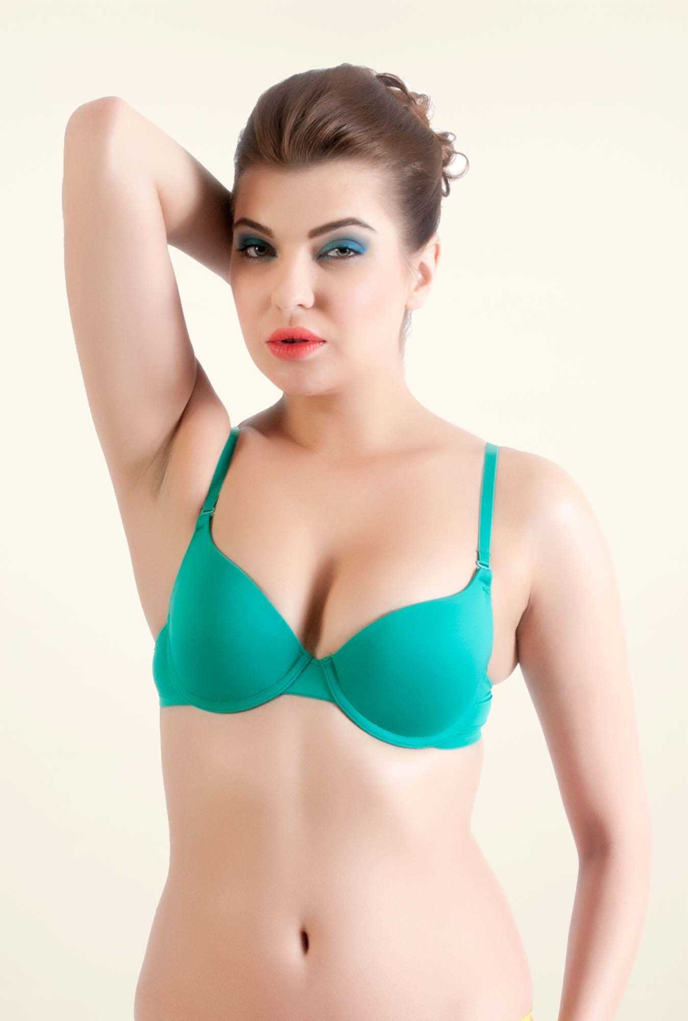 Bwitch Green Seamless Bra