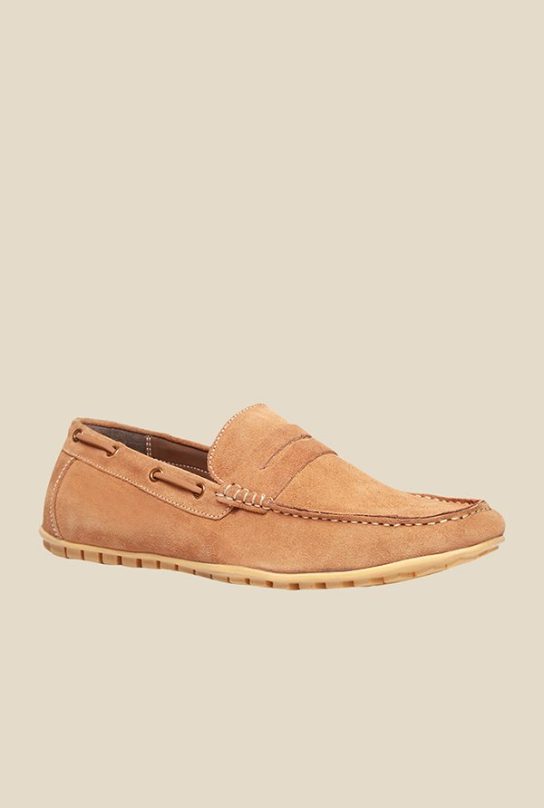 Bata Guetta Tan Boat Shoes