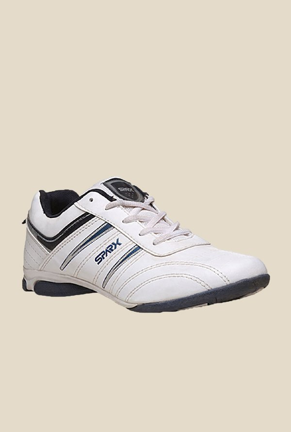 Sparx Ease White Running Shoes