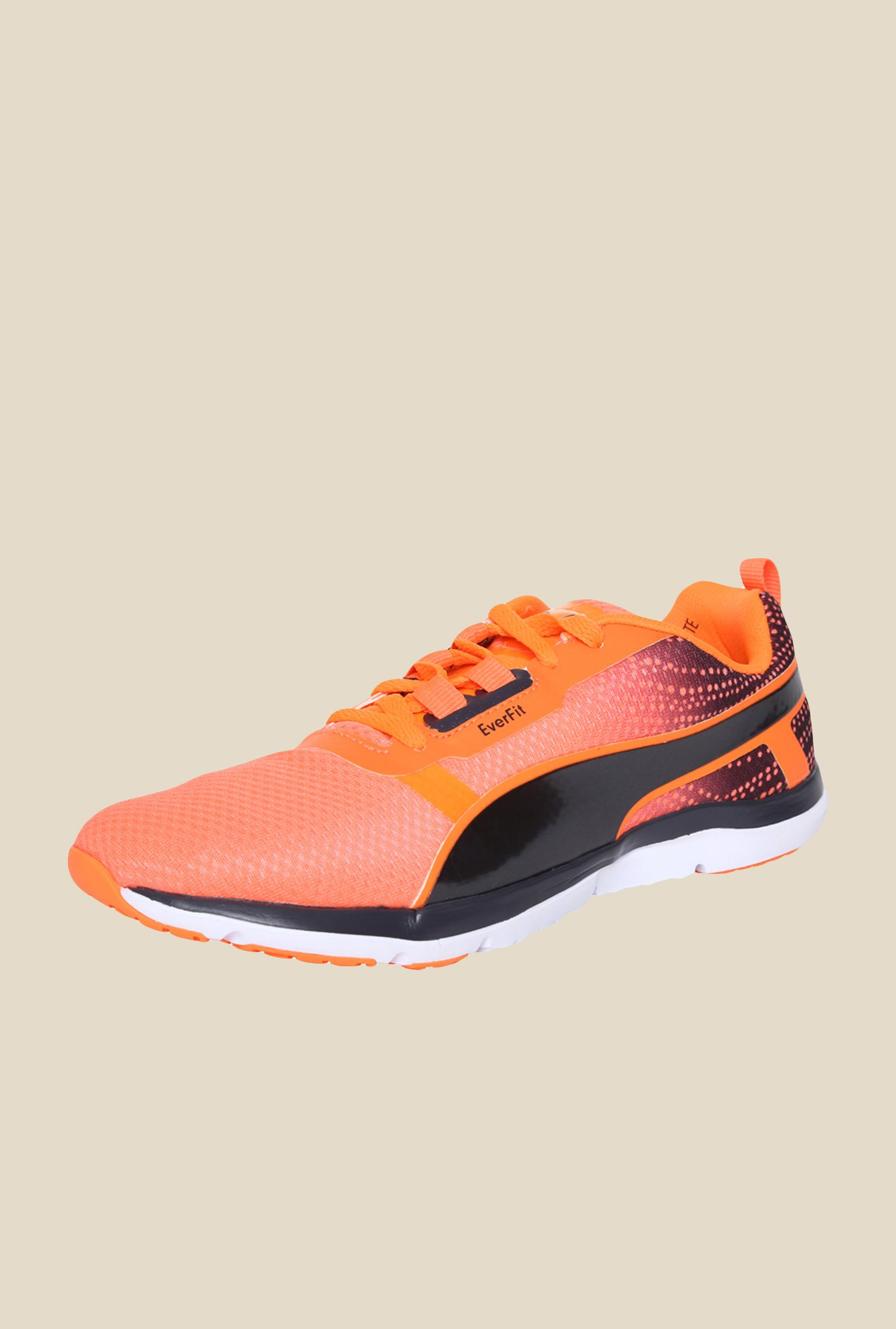Puma Pulse Flex XT Graphic Fluo Peach Running Shoes