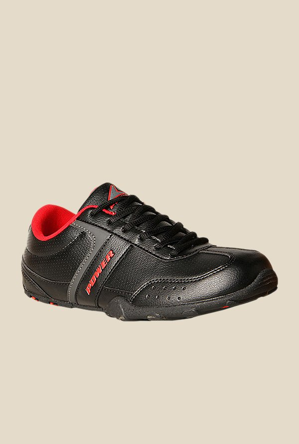Power Relish Black Running Shoes