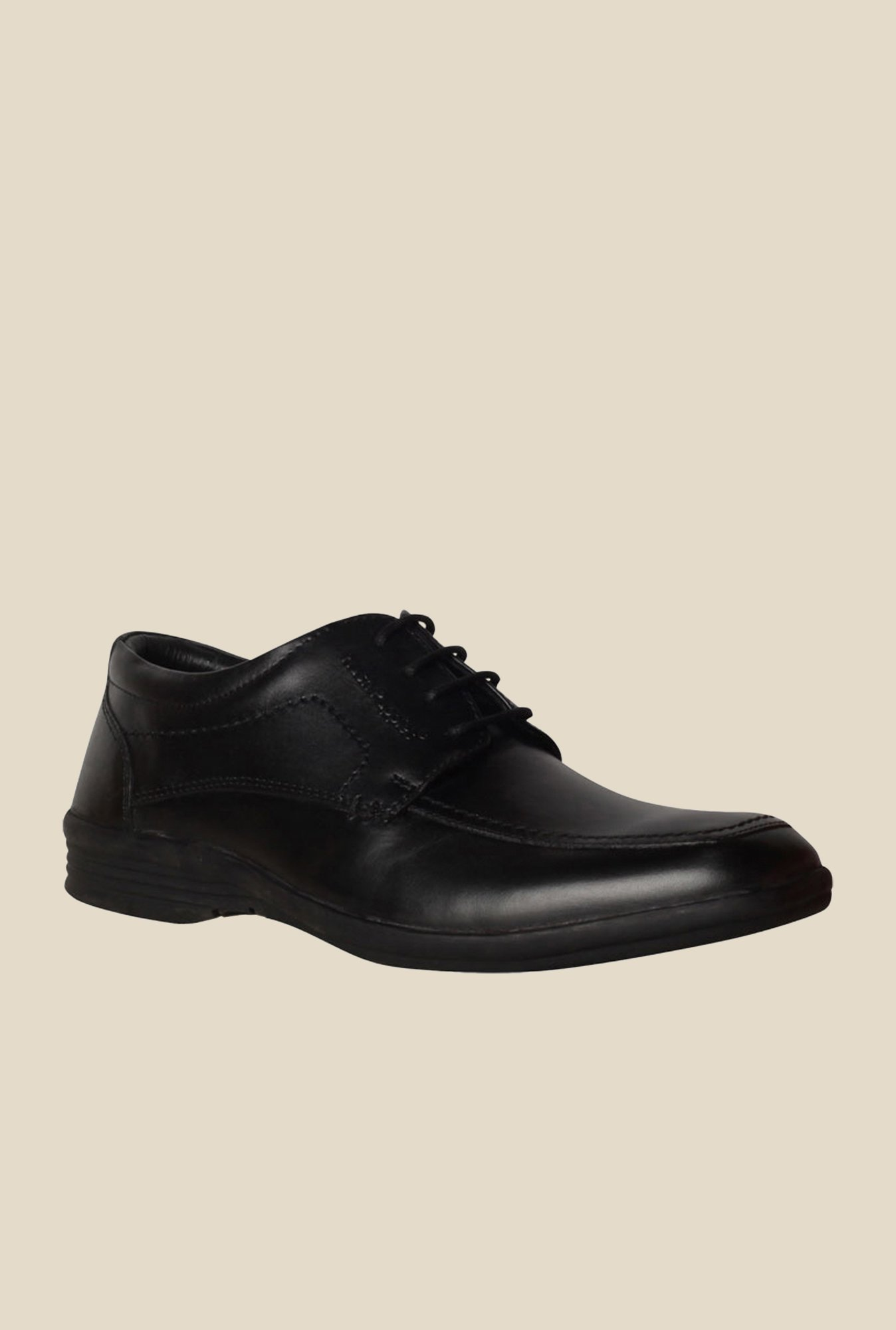 Hush Puppies Hooter Black Derby Shoes