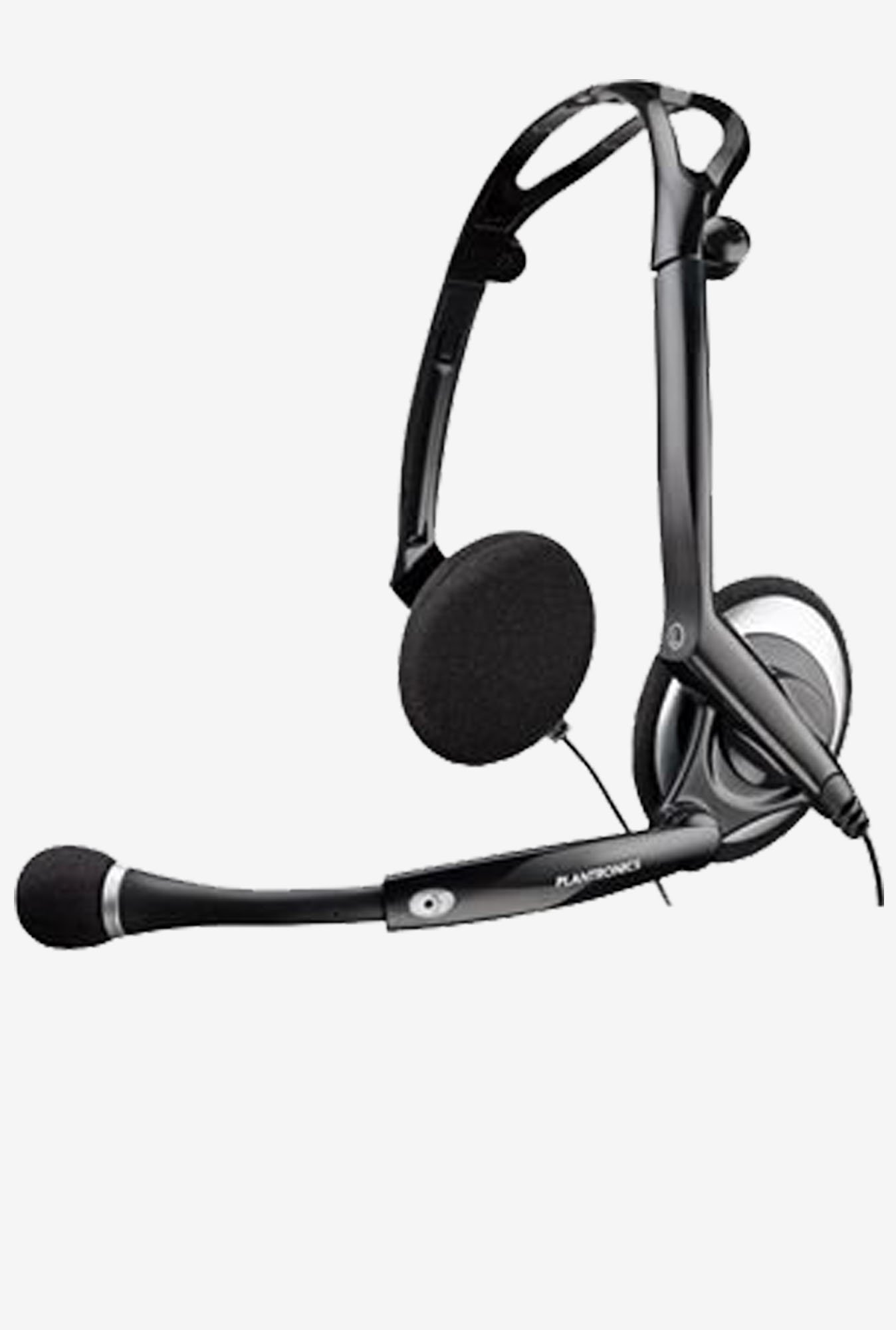Plantronics Audio DSP-400 Headset Over the Head (Black)