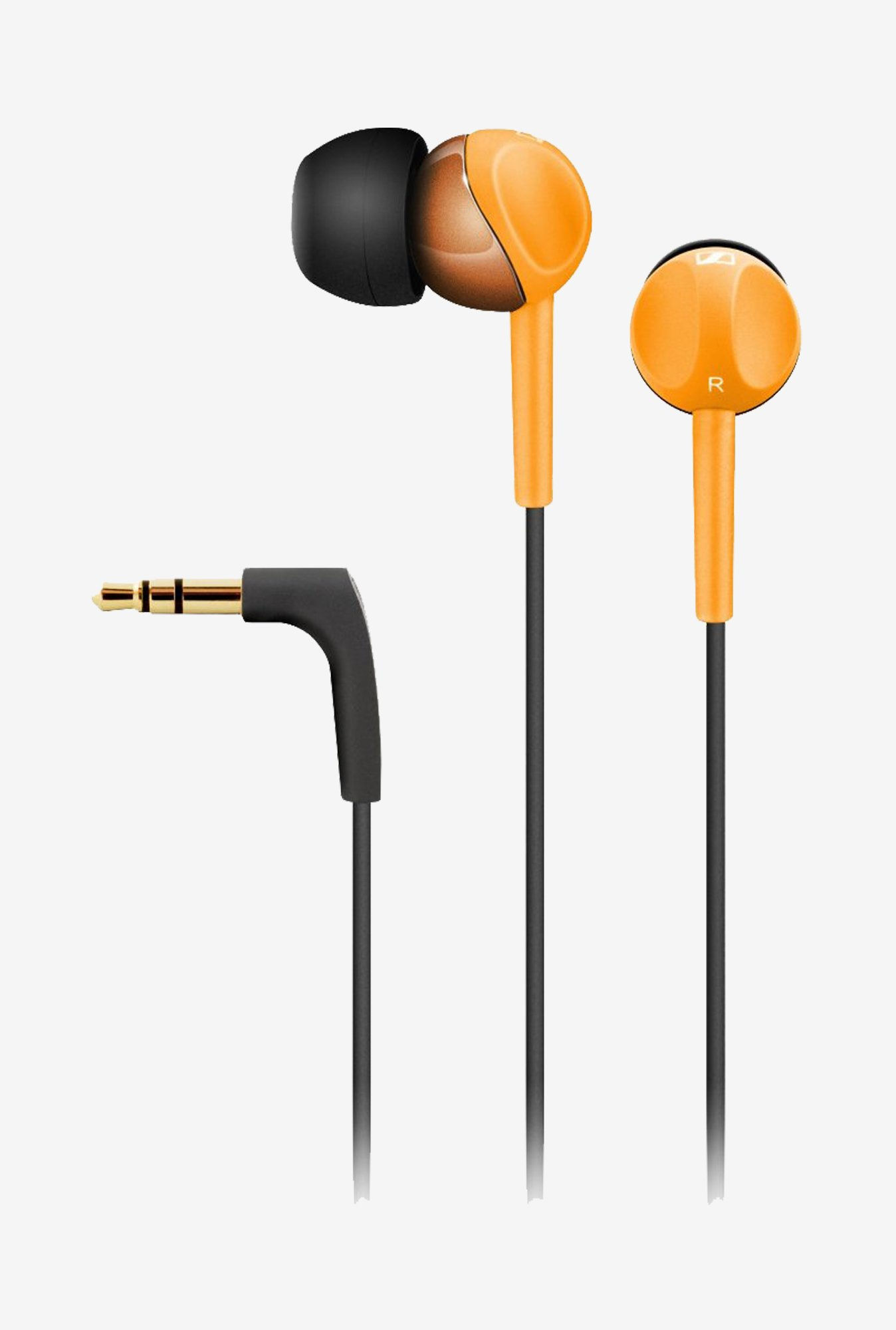 Sennheiser CX215 In The Ear Headphone (Orange)