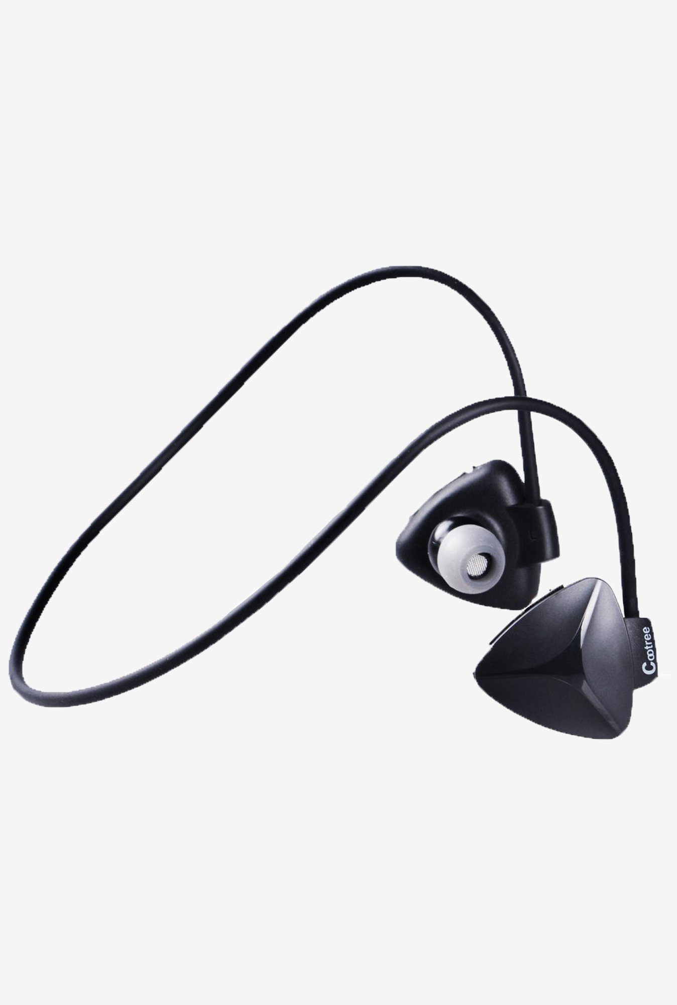 CootreeA C252 Sweatproof In the Ear Headphone (Black)