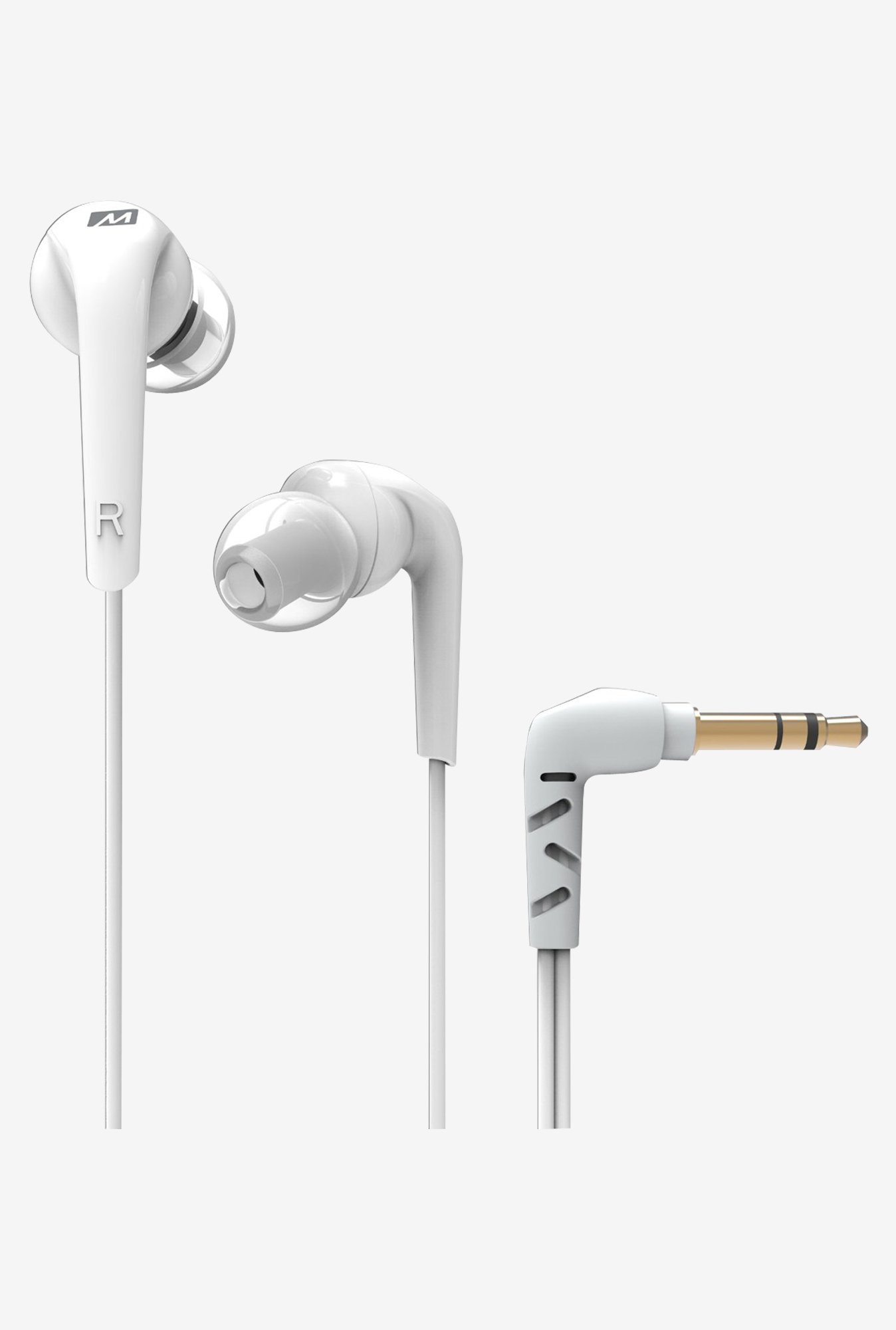 MEE Audio RX18 In The Ear Headphones (White)