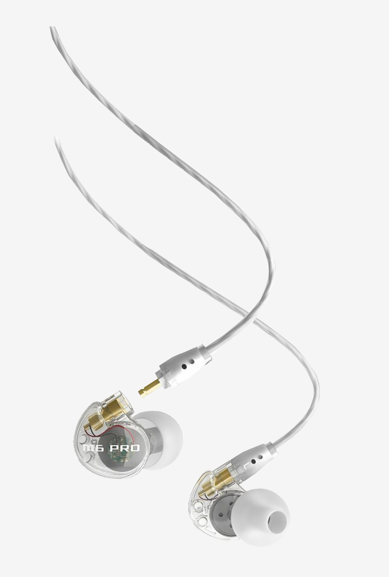 MEE Audio M6 Pro In The Ear Earphones (Clear)