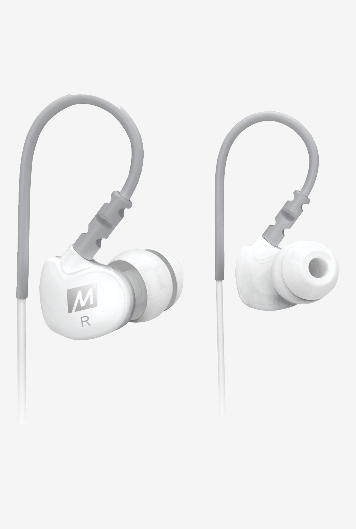MEE Audio Sport-Fi M6 In The Ear Headphones (White)