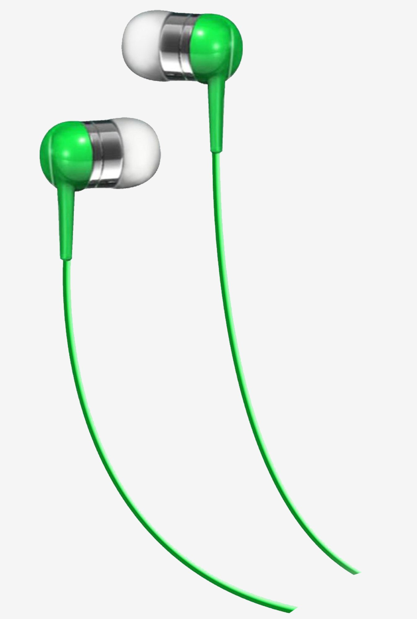Maxell190285In The EarBud Green
