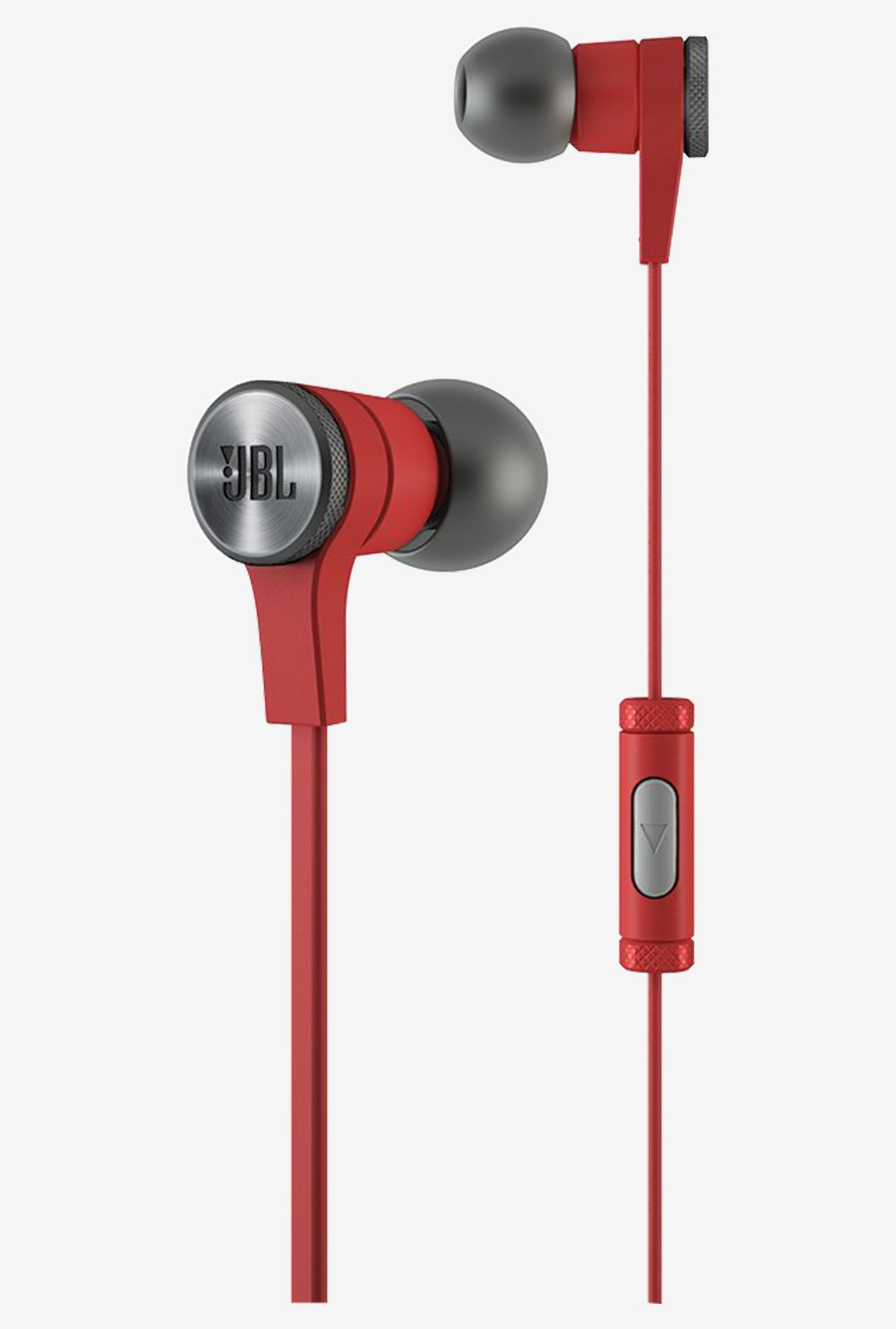 JBL Synchros E10 Stereo In the Ear Headphones With Mic (Red)