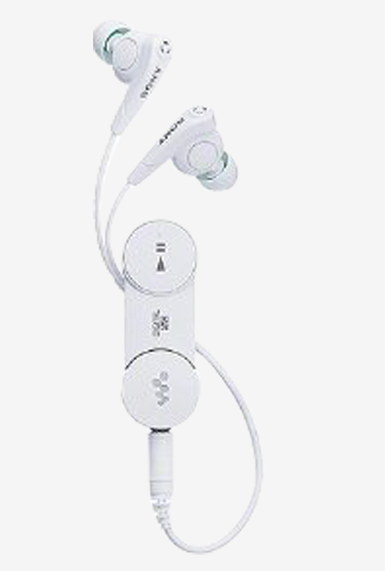 Sony Bluetooth Noise Canceling Stereo Headphones White