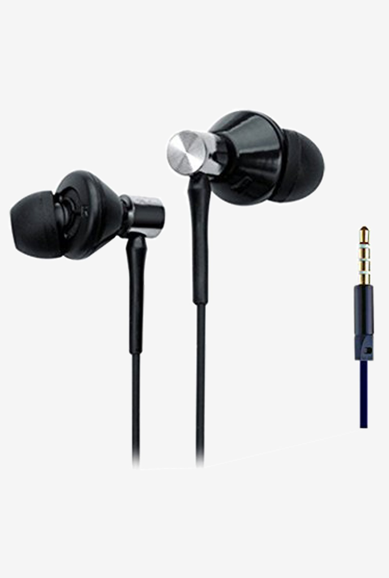 Ubon Universe-UB185 Big Daddy Bass Quality Earphone (Black)