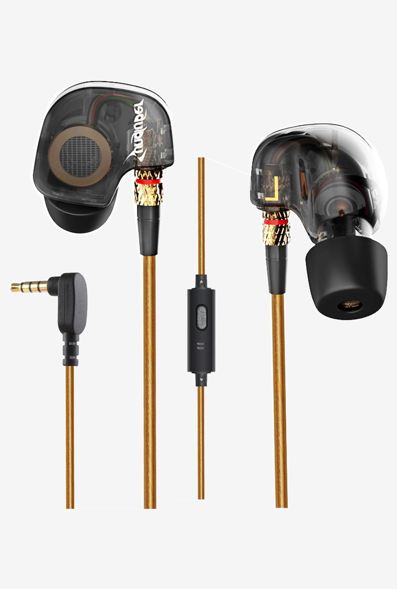 Sungluber 4473118 Audiophile HiFi Earbuds In the Ear (Black)