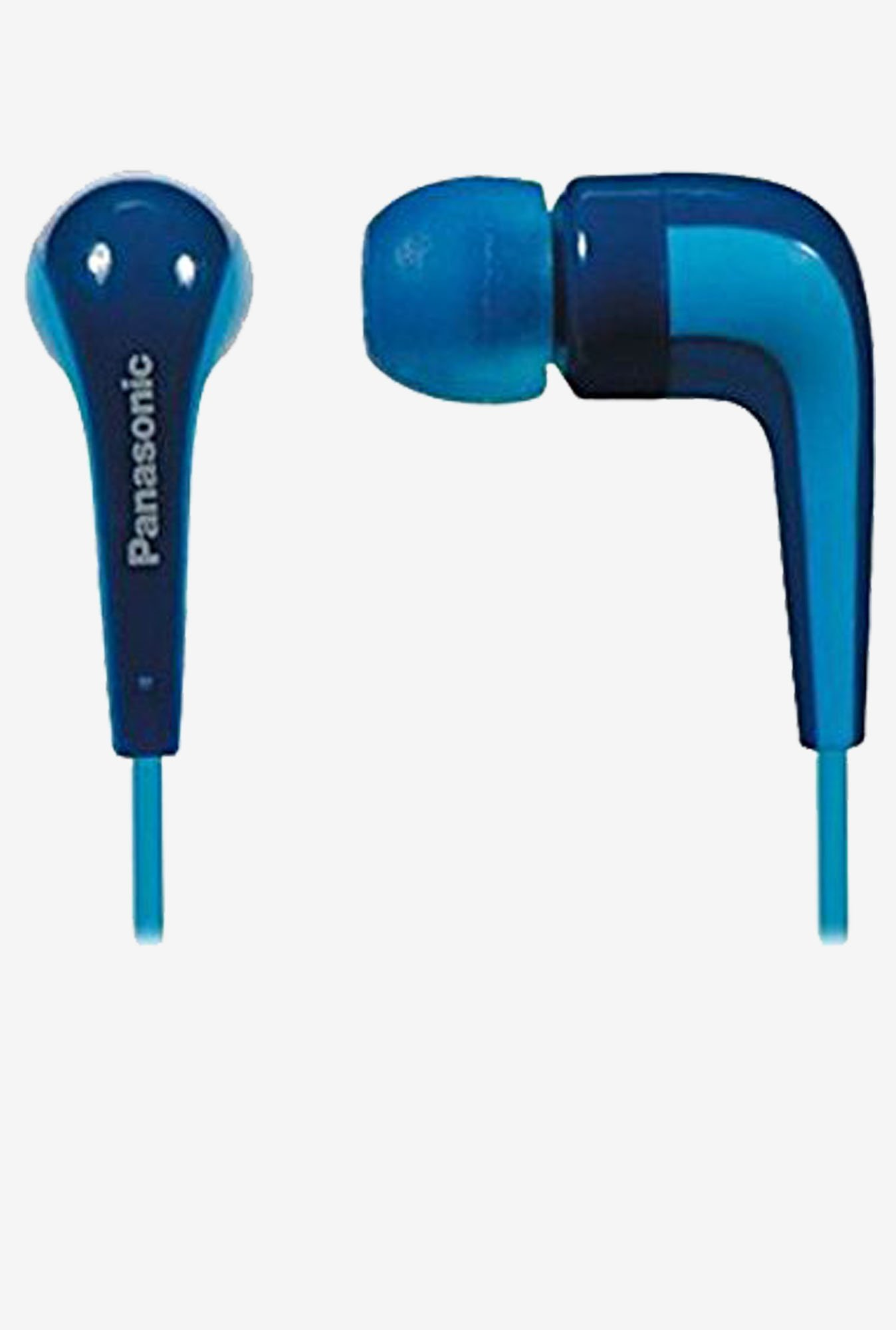 Panasonic RP-HJE140E-A In The Ear Headphone (Blue)