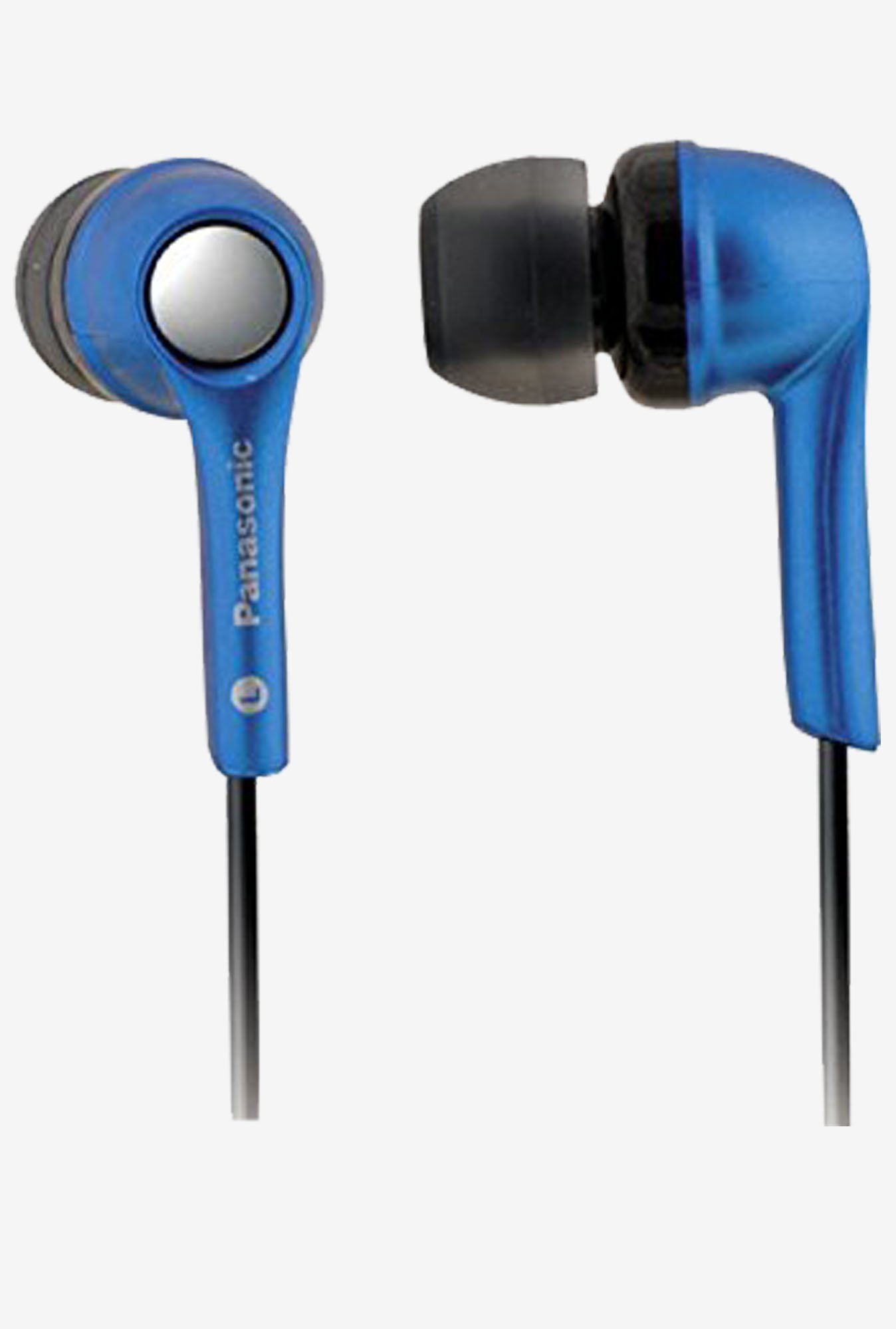 Panasonic RP-HJE240PAA In The Ear Headphone  (Blue)