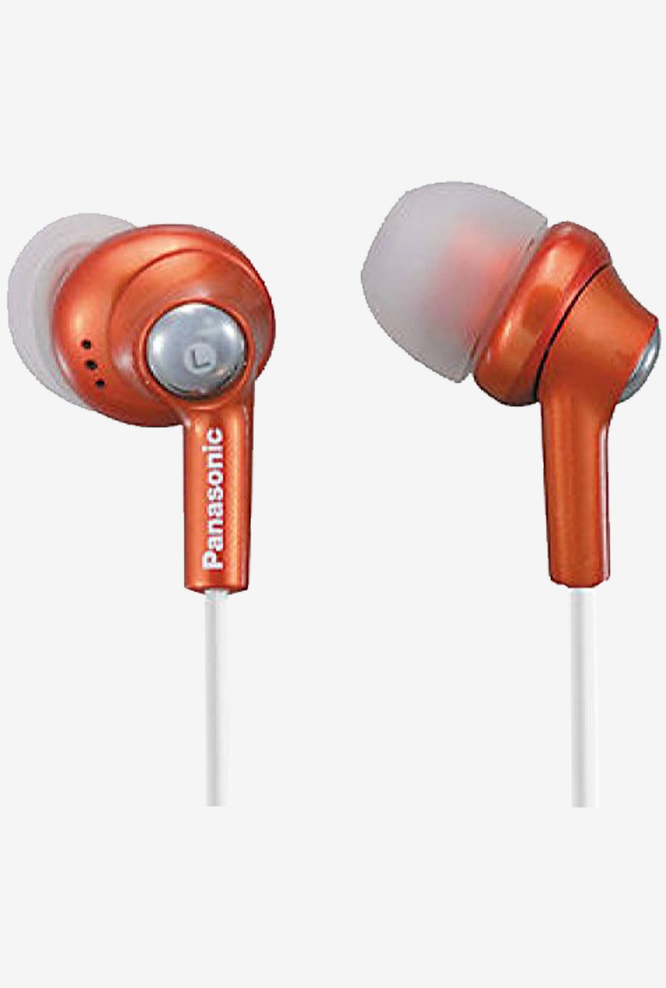 Panasonic RP-HJE270-D In The Ear Headphone (Orange)