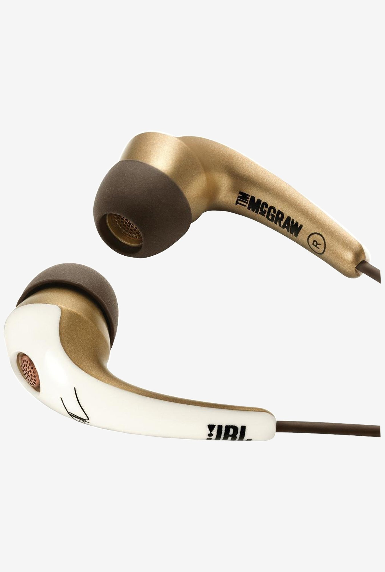 JBL TMG21W Tim McGraw Series In The Ear Headphones
