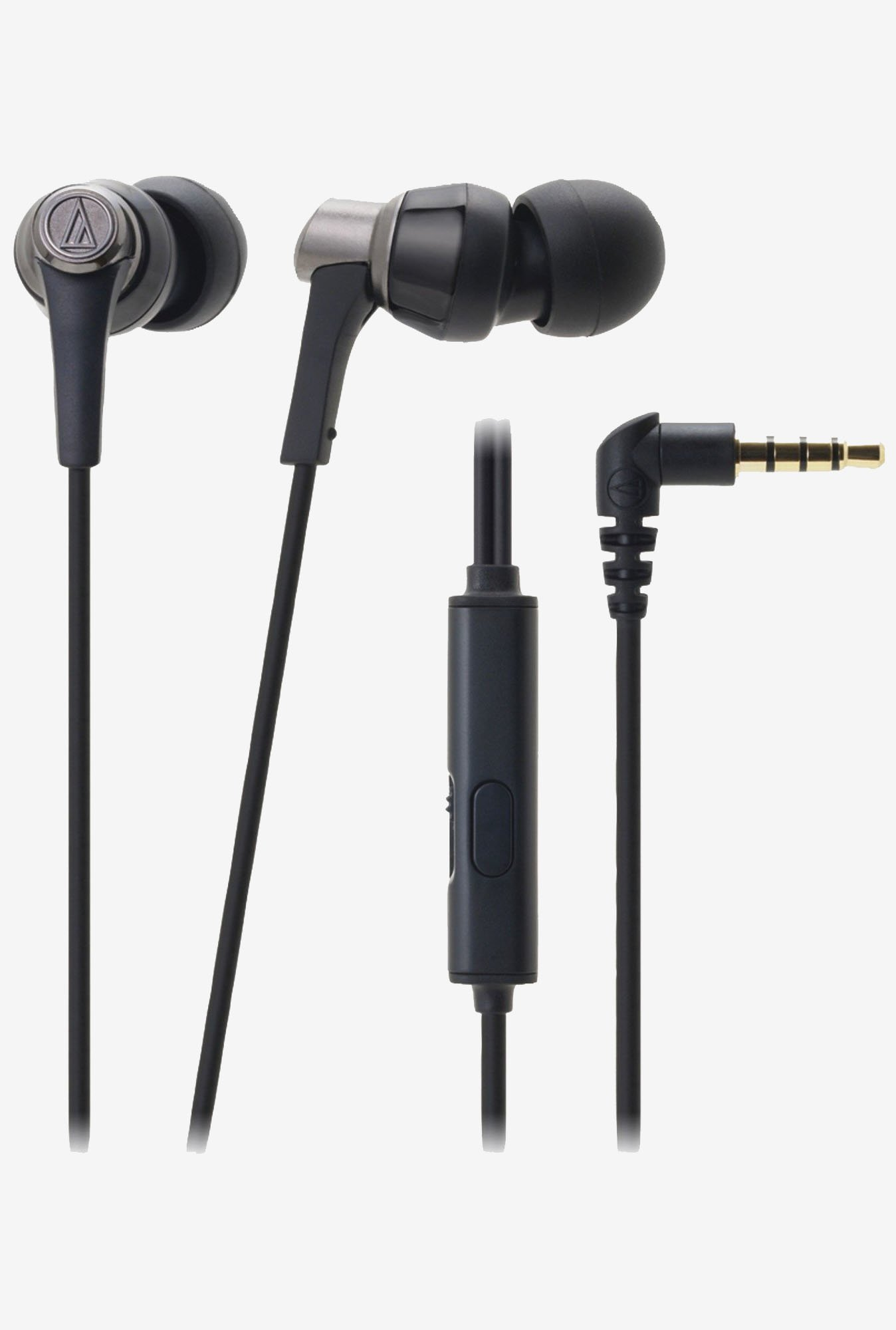Audio Technica ATH-CKR3iS BK for Smartphone (Black)