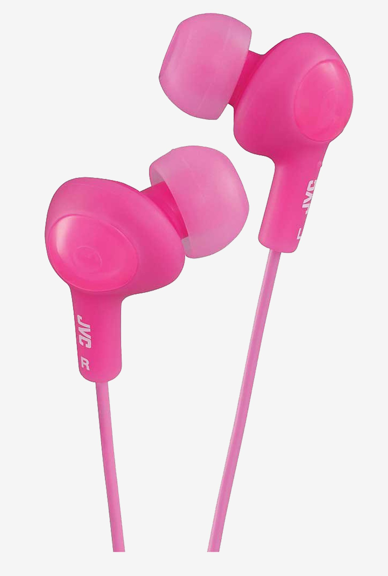 JVC Stereo In The Ear Lightweight Headphones (Pink)