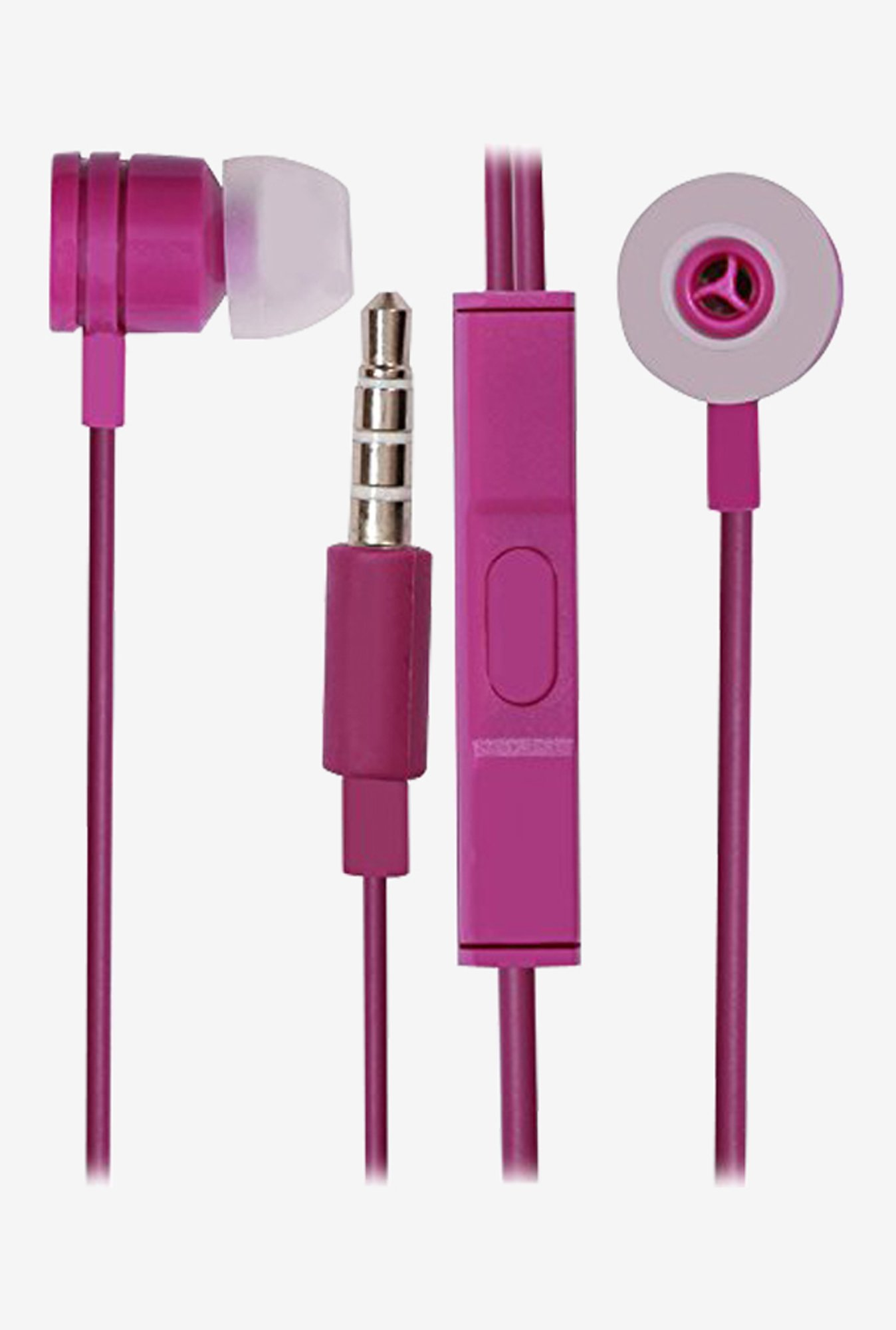 Jkobi In The Ear Bud Headset Earphones (Purple)