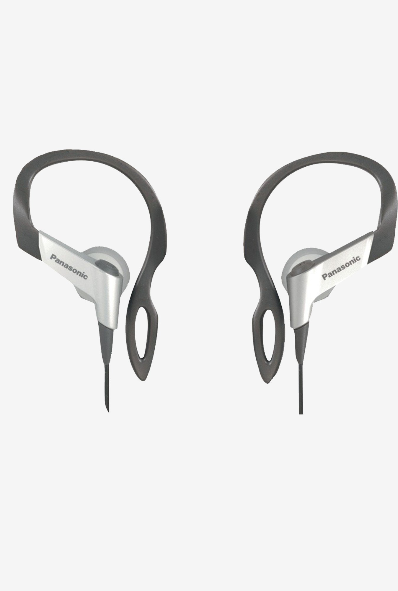 Panasonic RP-HS16-S Flexible Ear Hinge Heaphones (Silver)