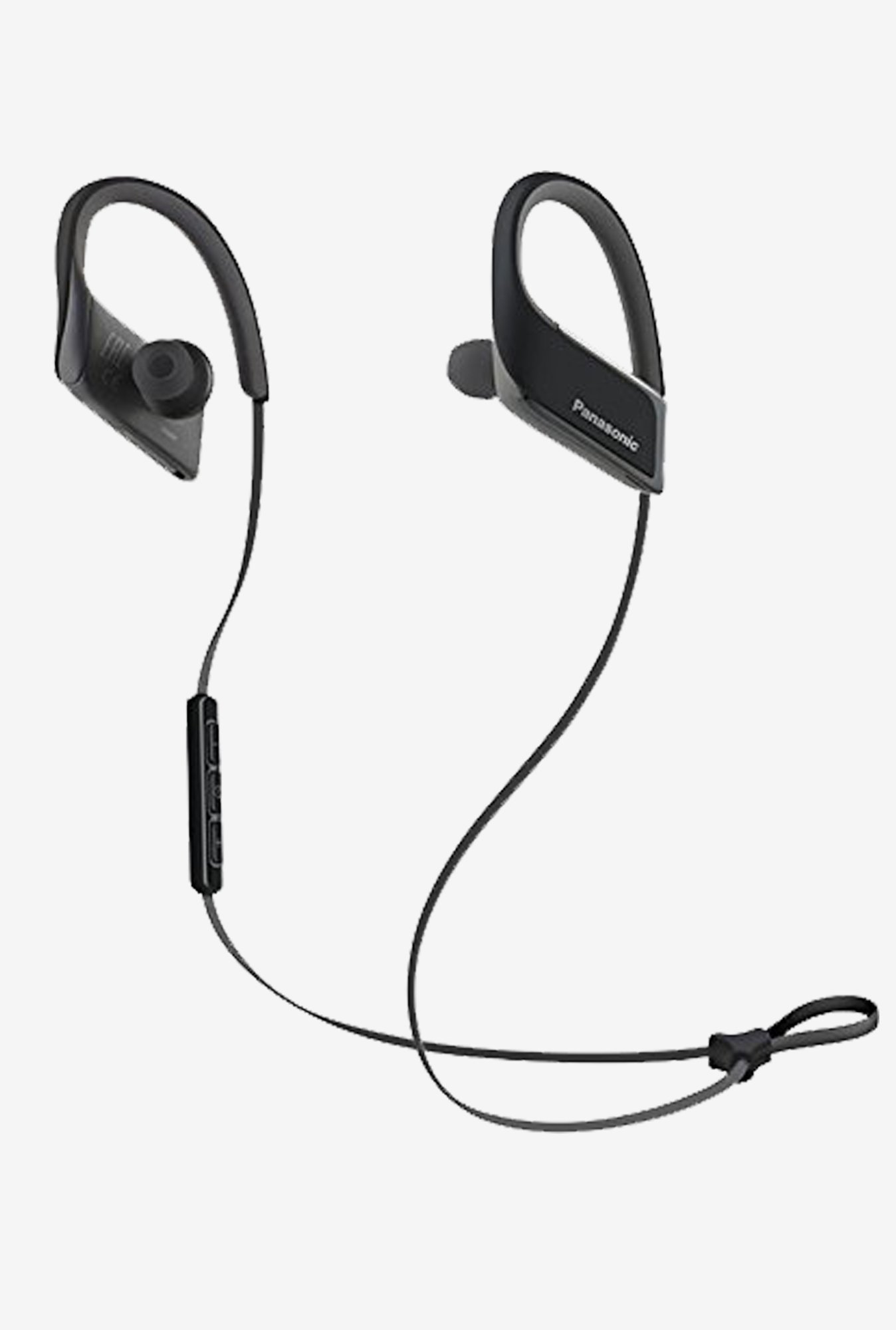 Panasonic RP-BTS30-K 3D Flex Sport Headphone (Black)