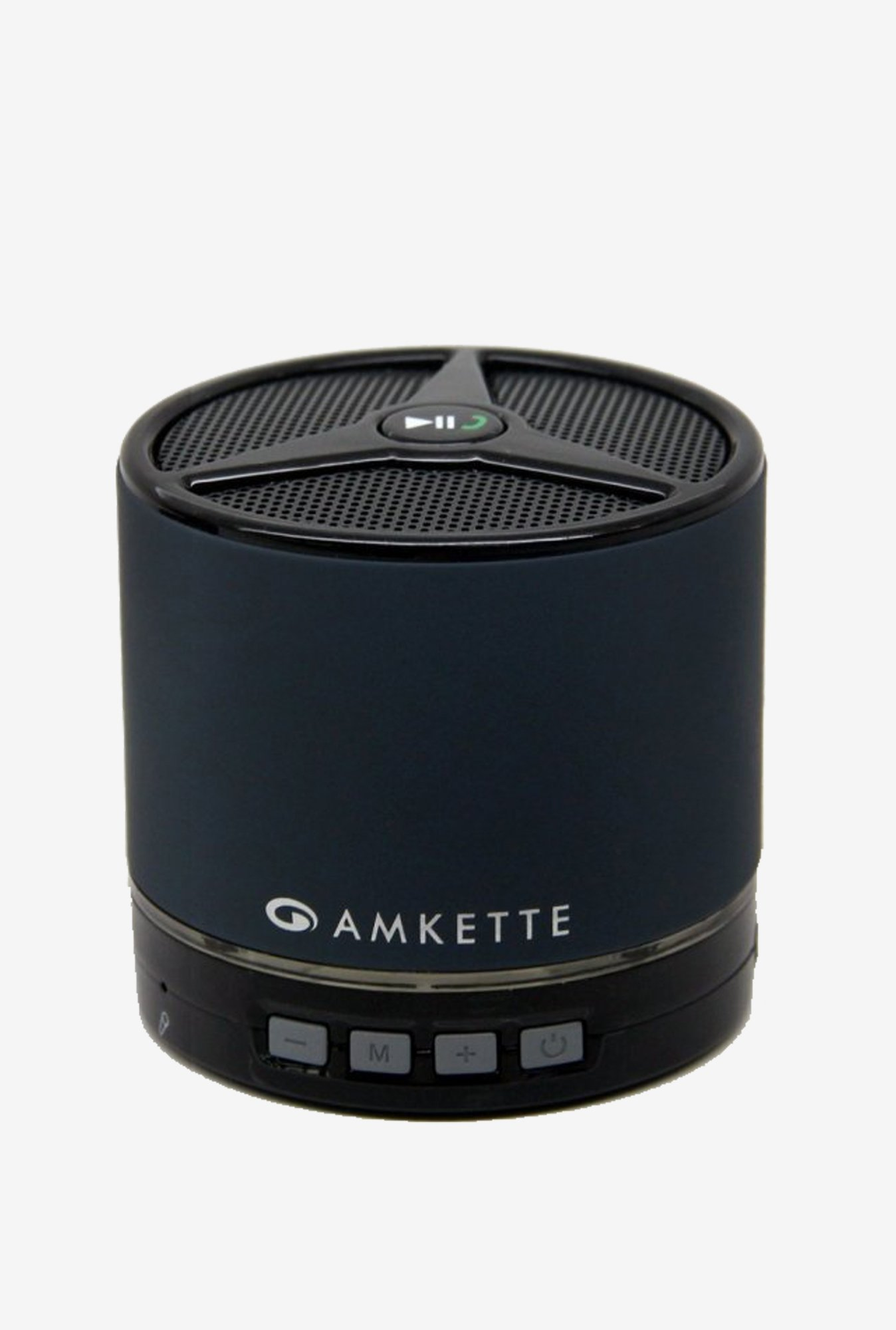 Amkette FDD663GR Trubeats Portable Bluetooth Speaker (Grey)