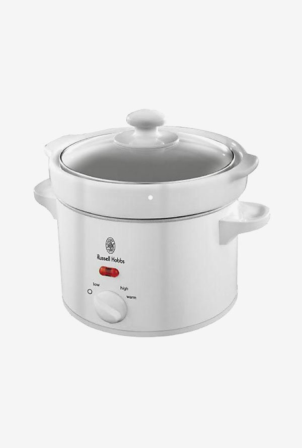 Russell Hobbs RRC22CT 2.2 L 900 Watt Rice Cooker (White)