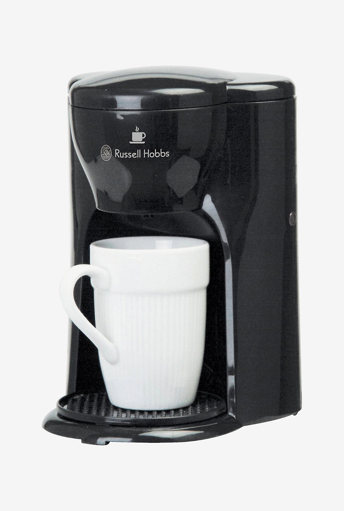 Russell Hobbs RCM1 Coffee Maker with 1 Cup Capacity (Black)