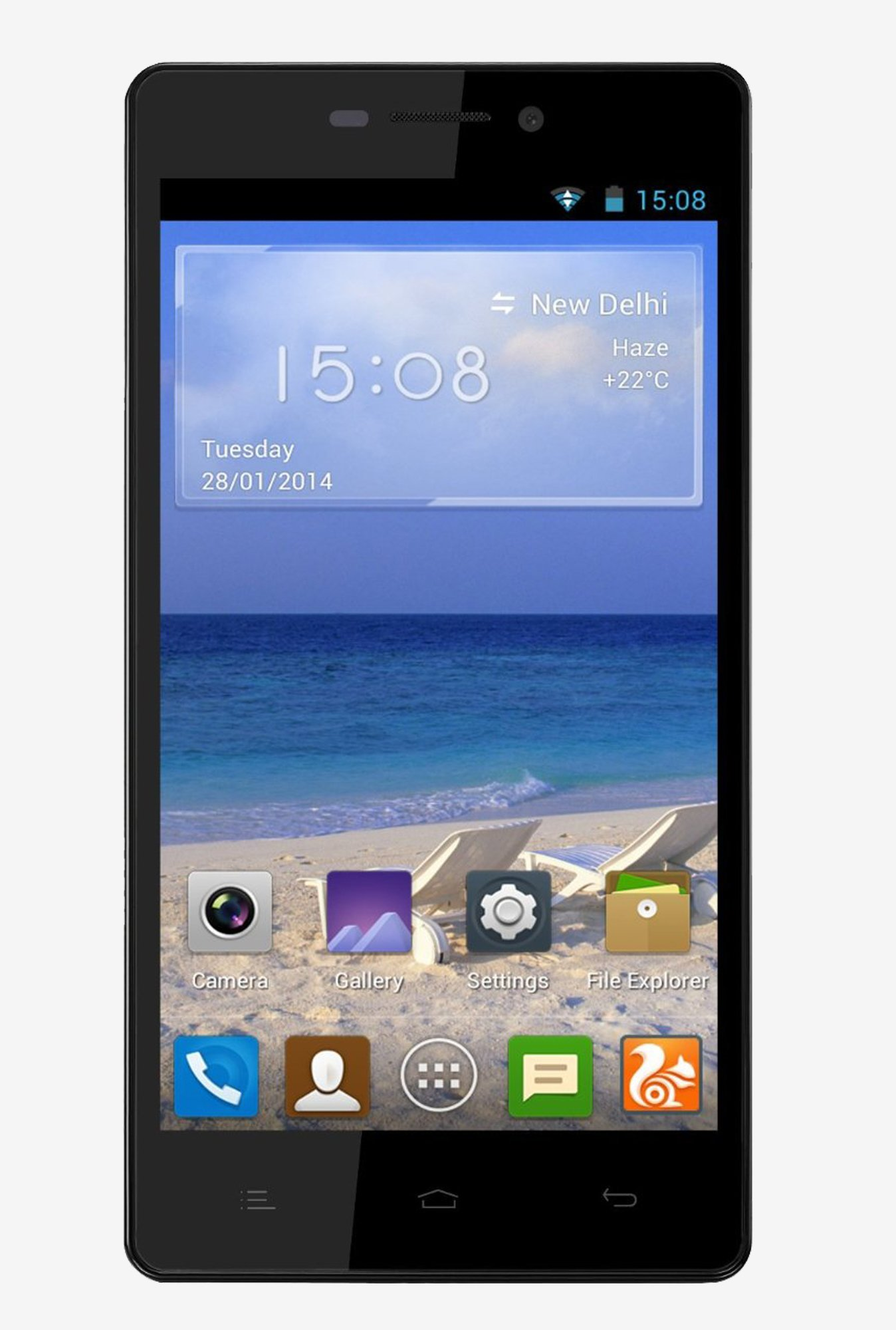 Gionee M2 Quad Core Processor Smartphone (Black)