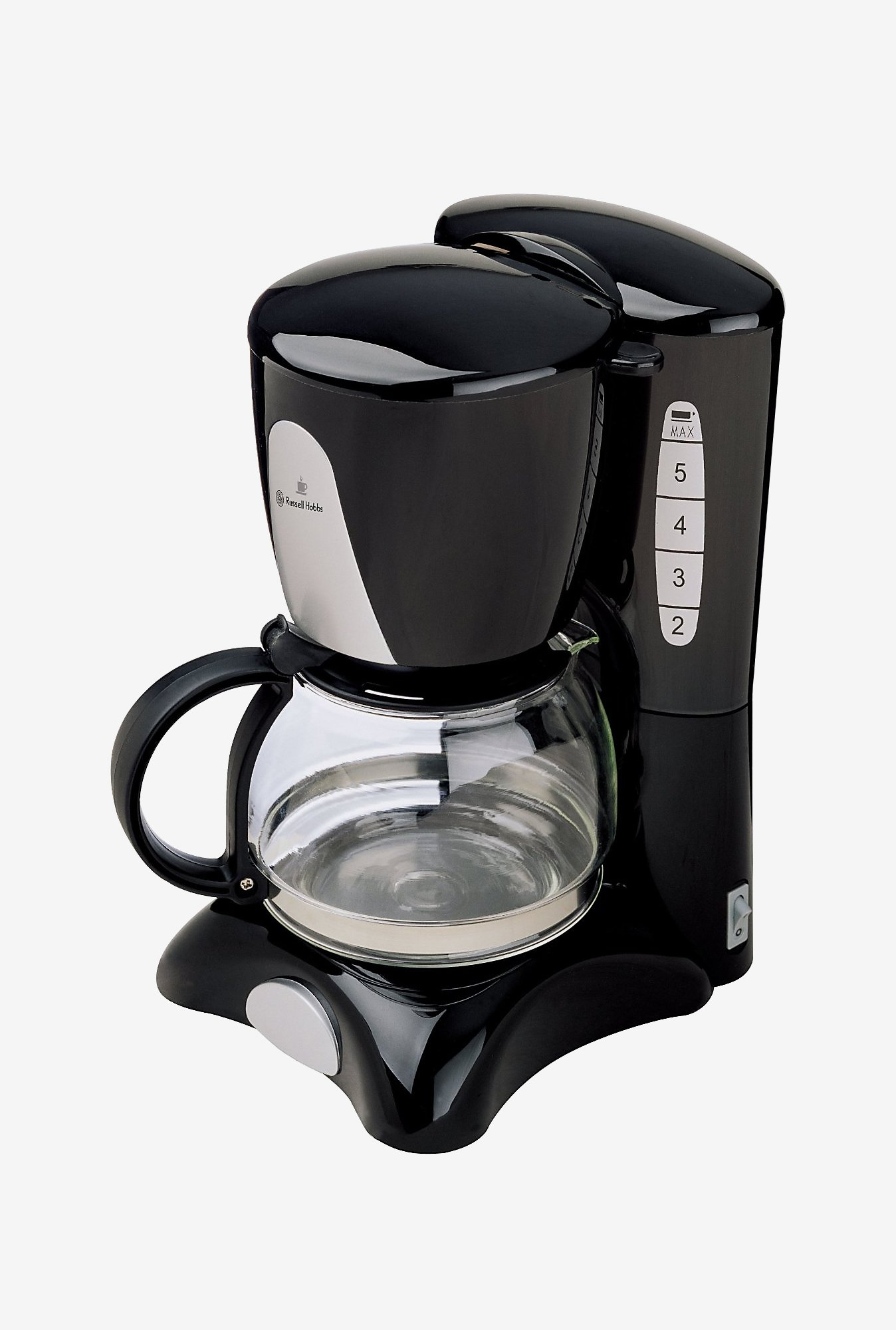 Russell Hobbs RCM60 Coffee Maker with 6 Cup Capacity (Black)